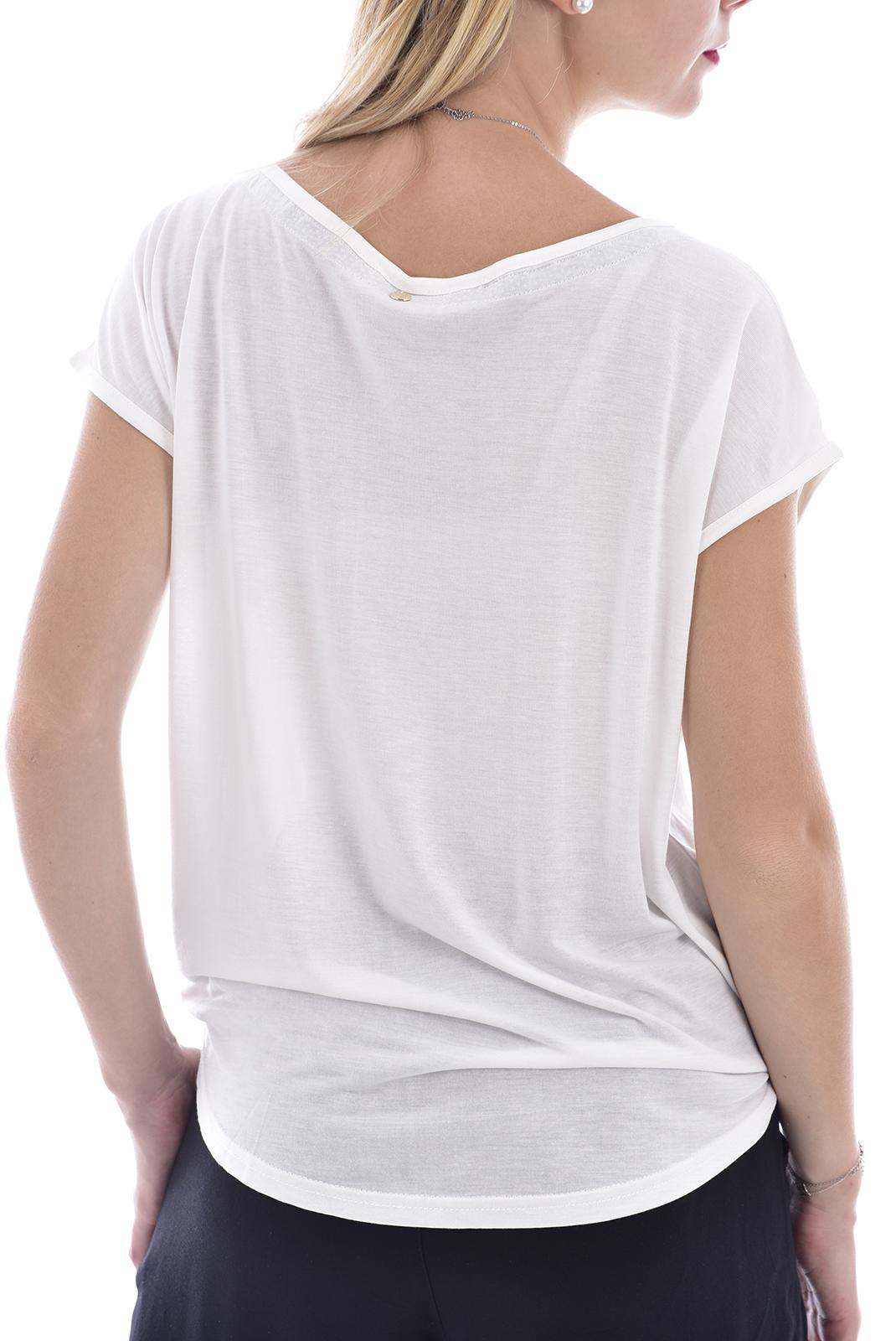 Tee shirt  Deeluxe LILI OFF WHITE