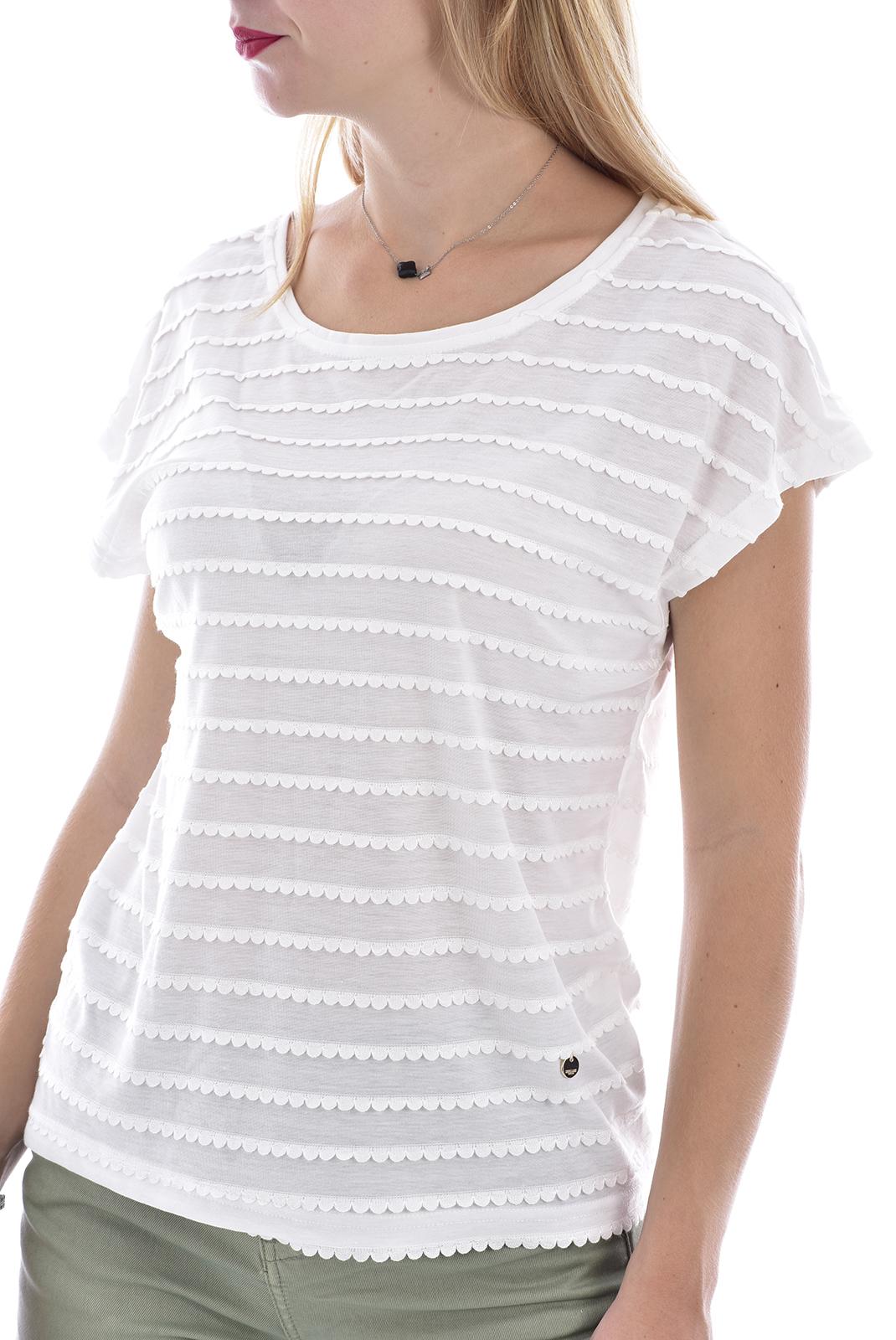 Tee shirt  Deeluxe ADELE OFF WHITE