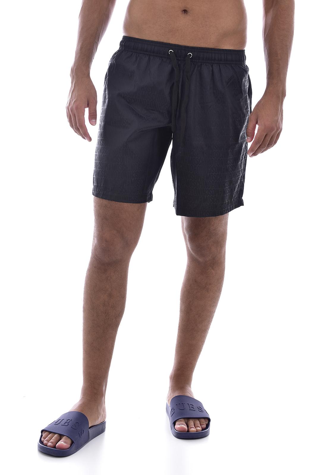 Shorts de bain  Moschino V6122 0555 NOIR