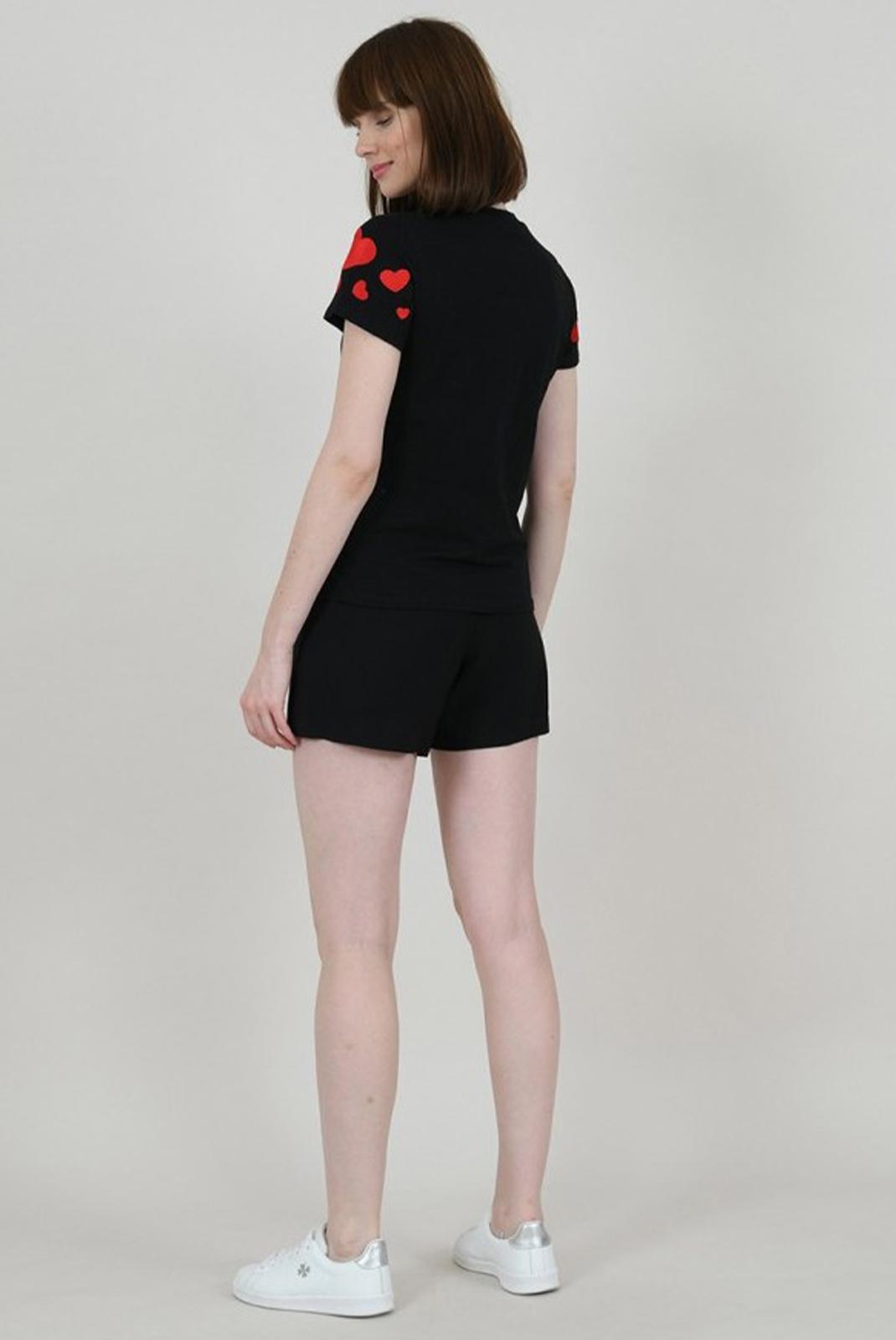 Tee shirt  Molly bracken E1261P20 BLACK