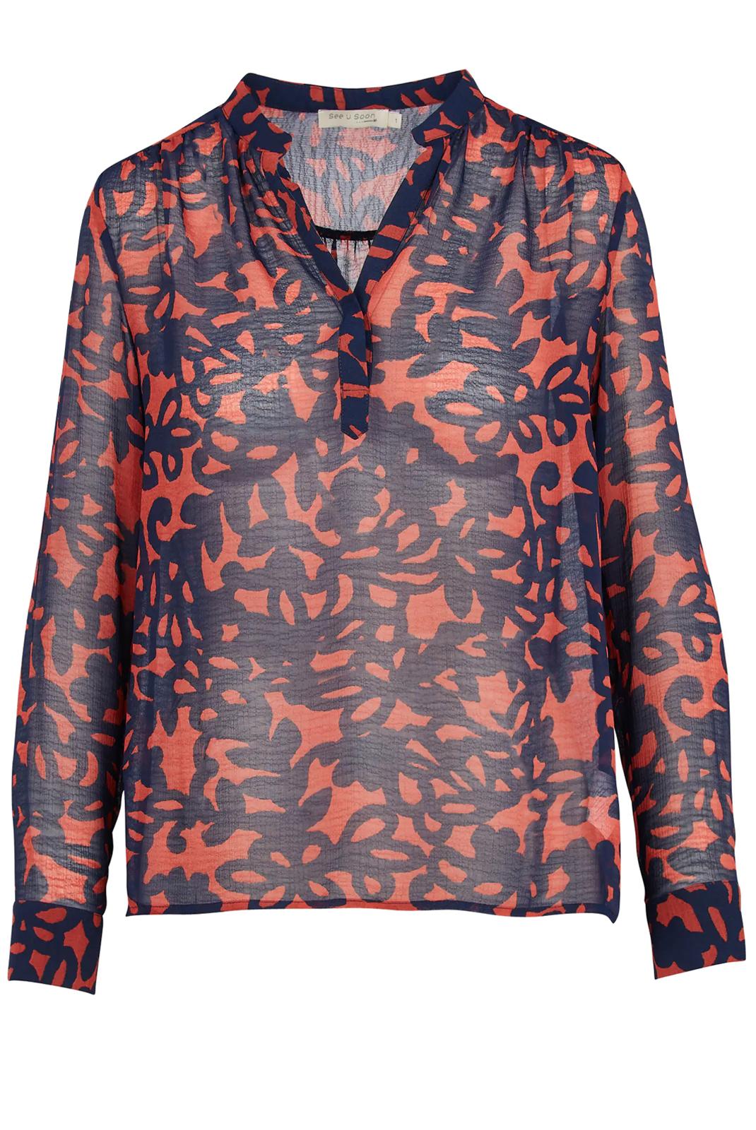 Blouses  See u soon 20112065 RED