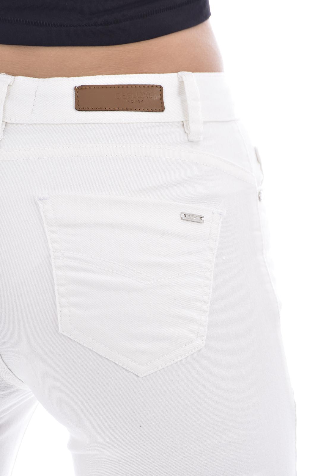 Jeans slim  Deeluxe PIME OFF WHITE