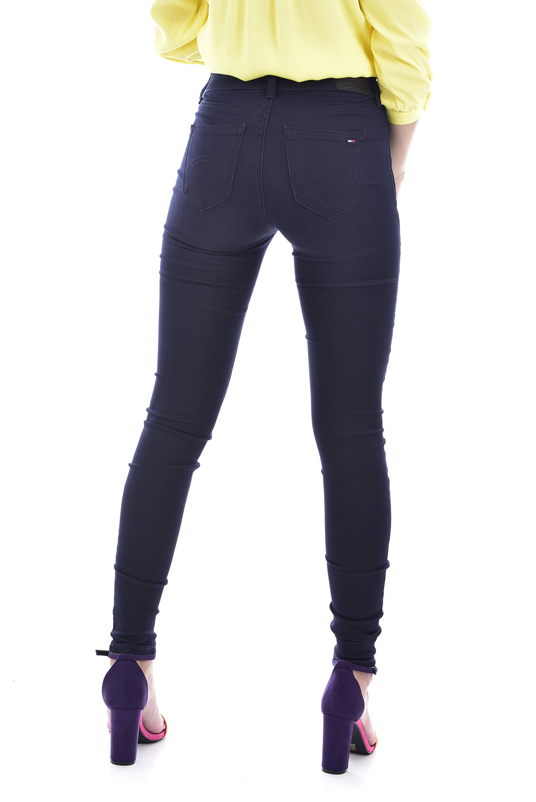 Jeans slim  Tommy Jeans DW0DW04413980 980 BLUE DENIM