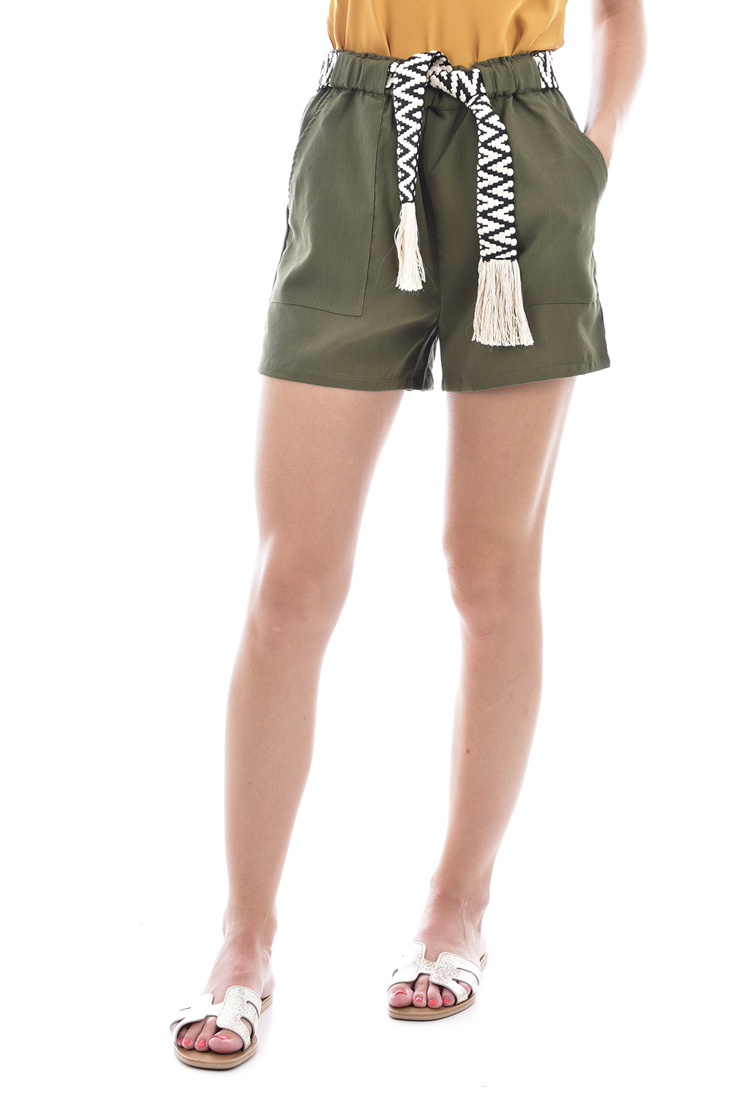 Shorts  See u soon 20141136 KAKI