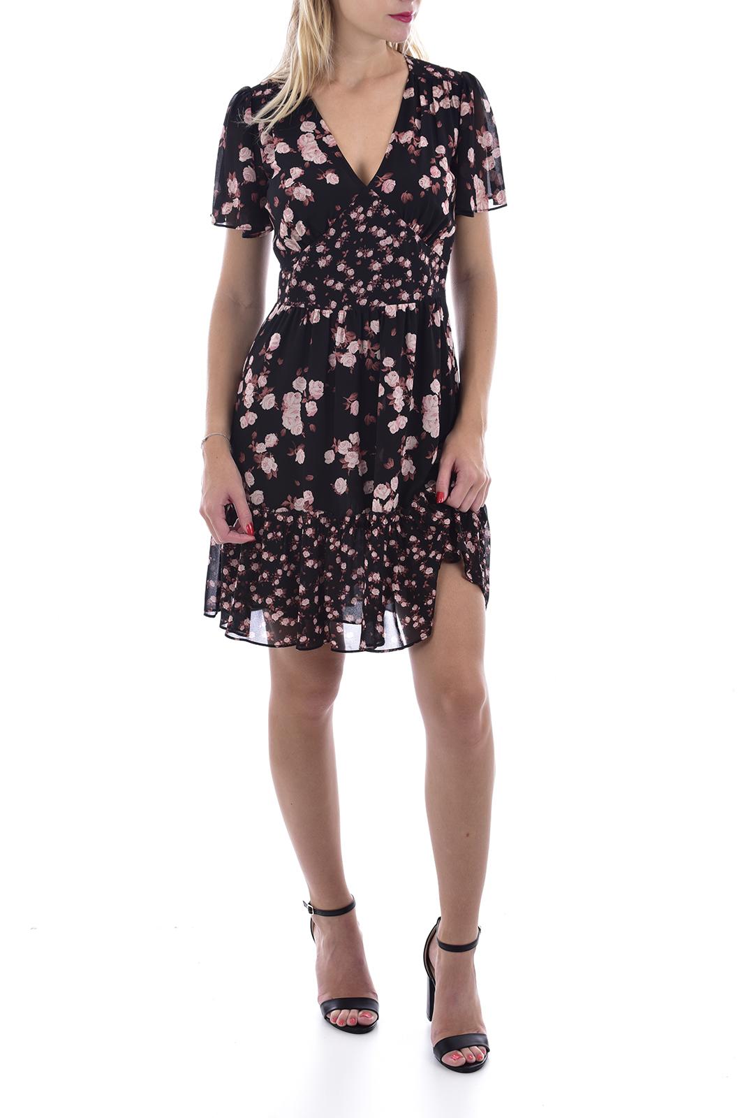 Robes  Michael Kors JH98YE7AFR BLACK/ROSE