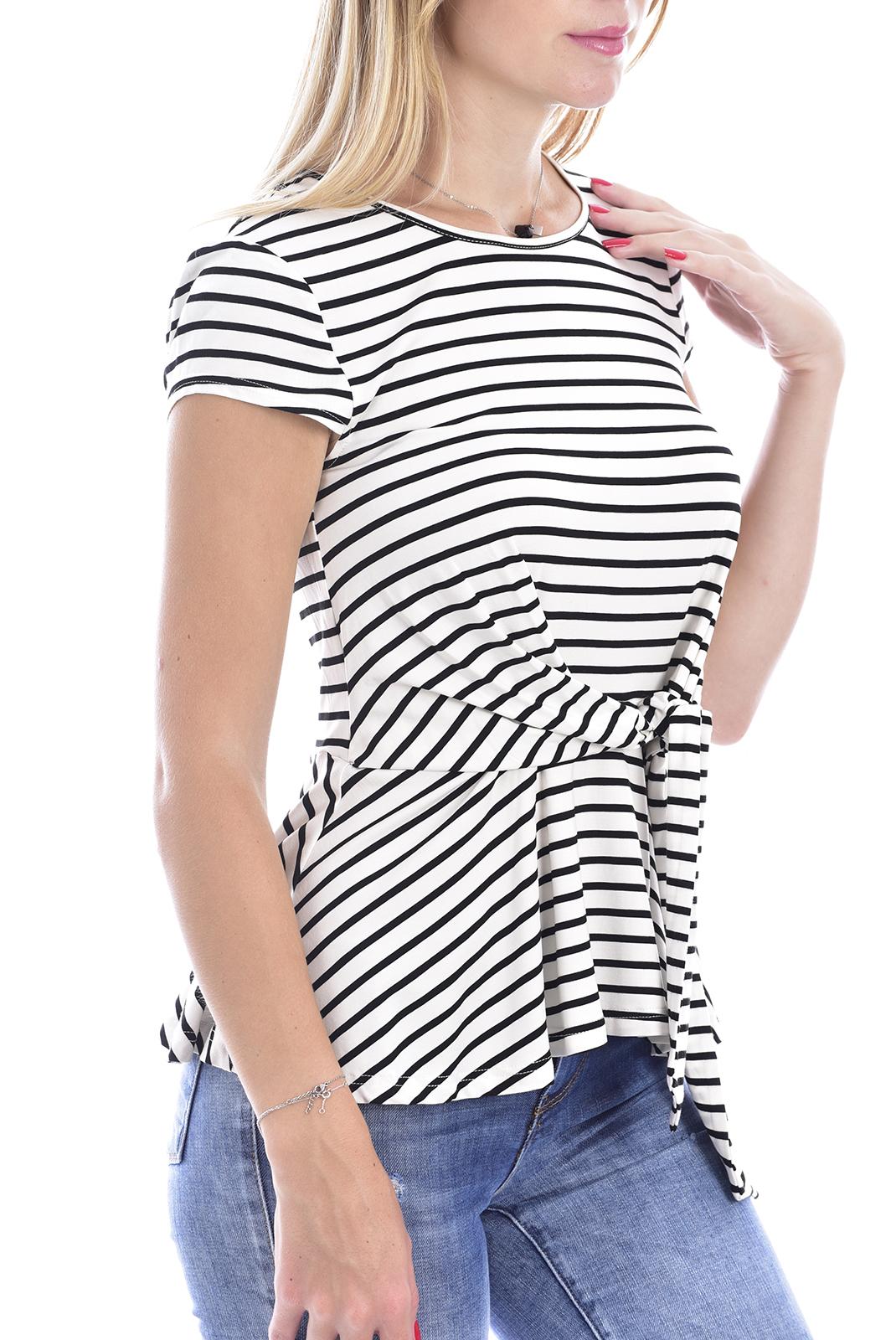 Tee shirt  Molly bracken R1371BP20 OFF WHITE