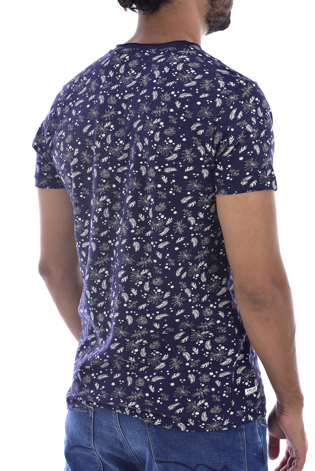 T-S manches courtes  Deeluxe BOTA NAVY