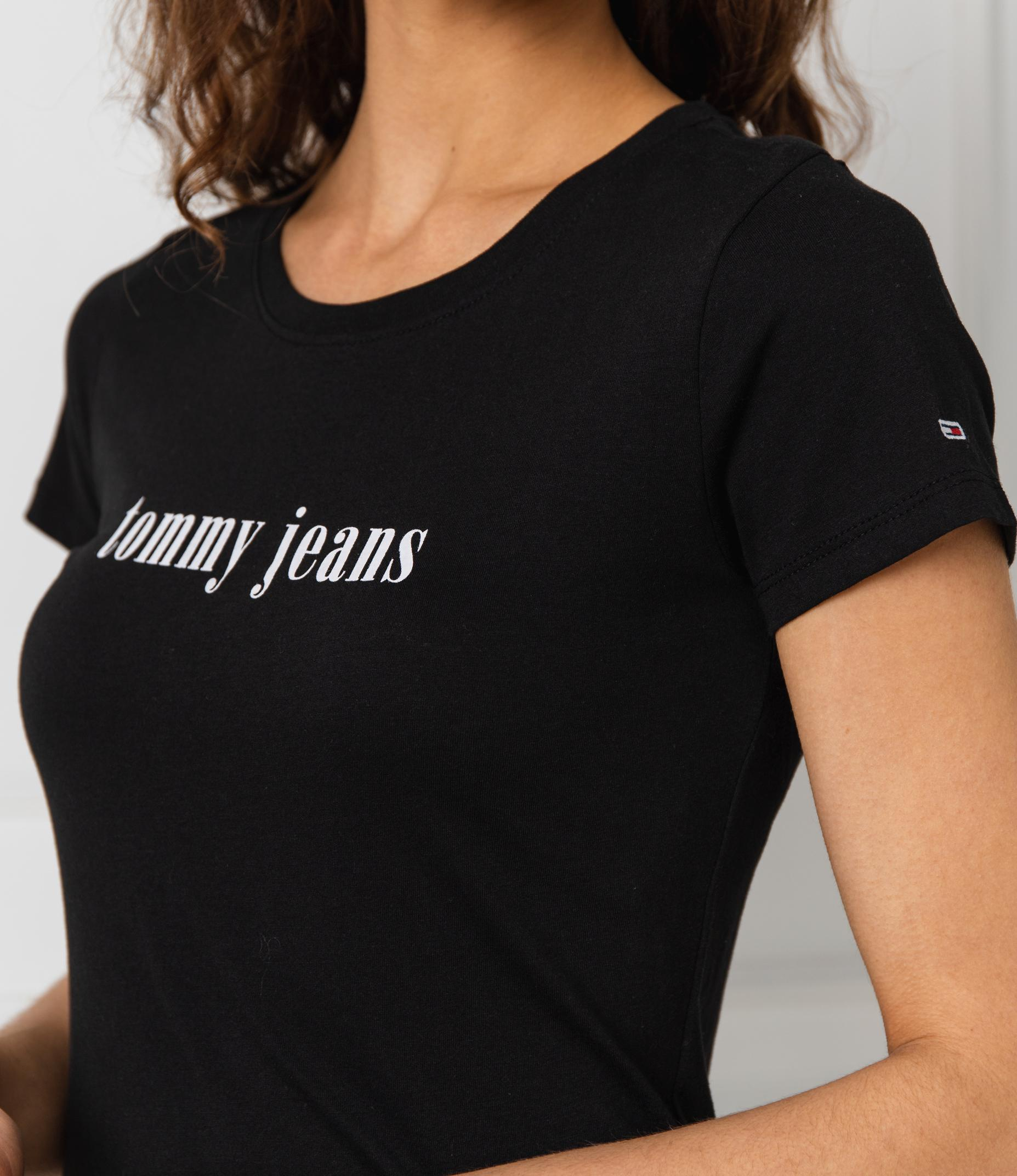 Tee shirt  Tommy Jeans DW0DW06715 BBU BLACK
