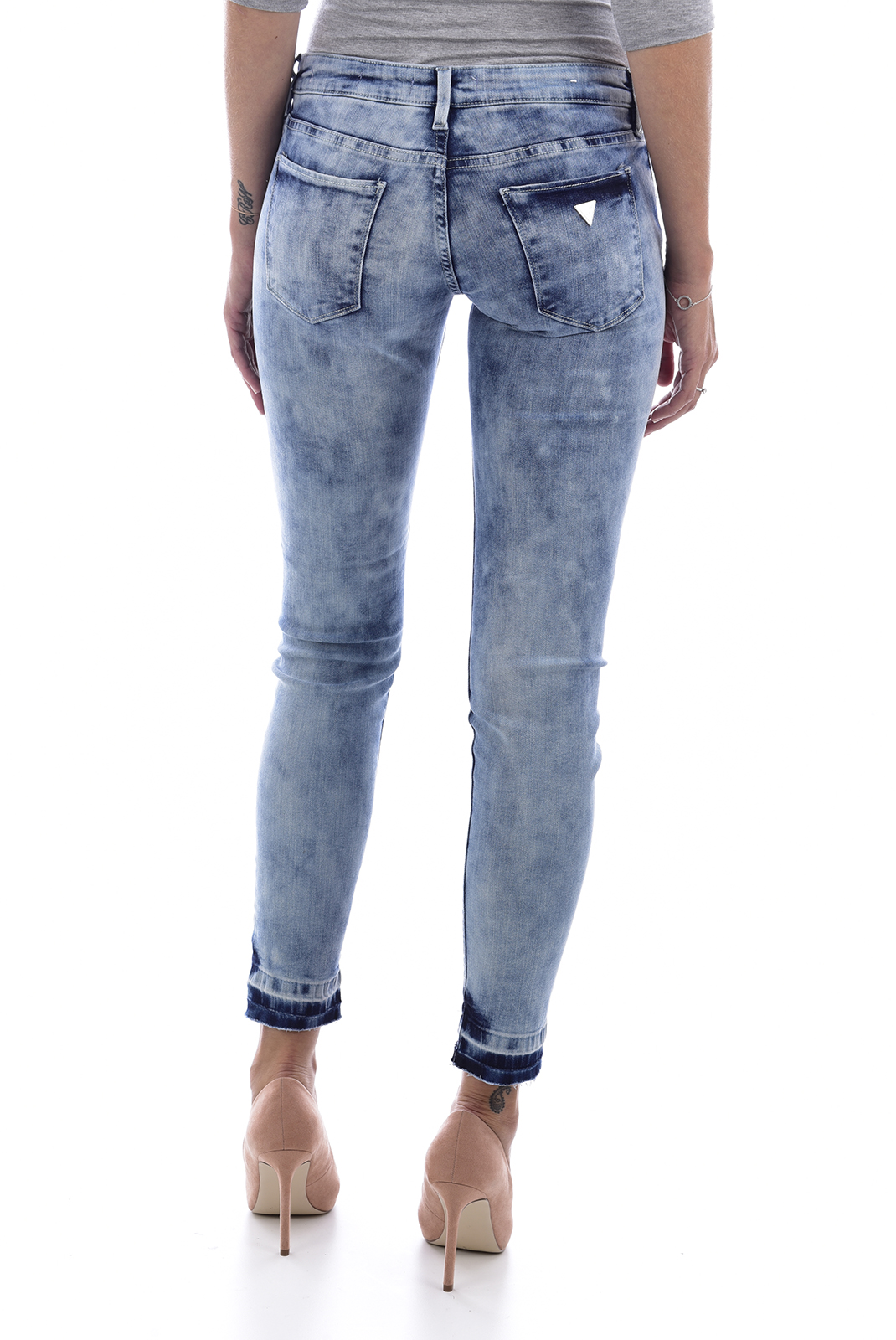 Jeans slim  Guess jeans W81043D2ZD0 BEVERLY CONEY WASH