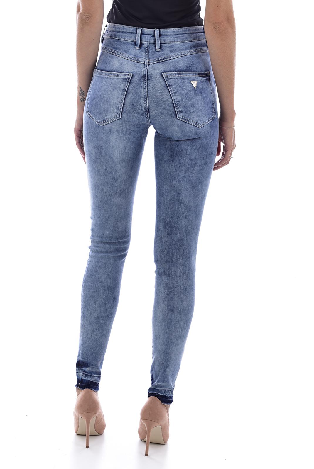 Femme  Guess jeans W81A28D2ZD0 1981 CONEY WASH