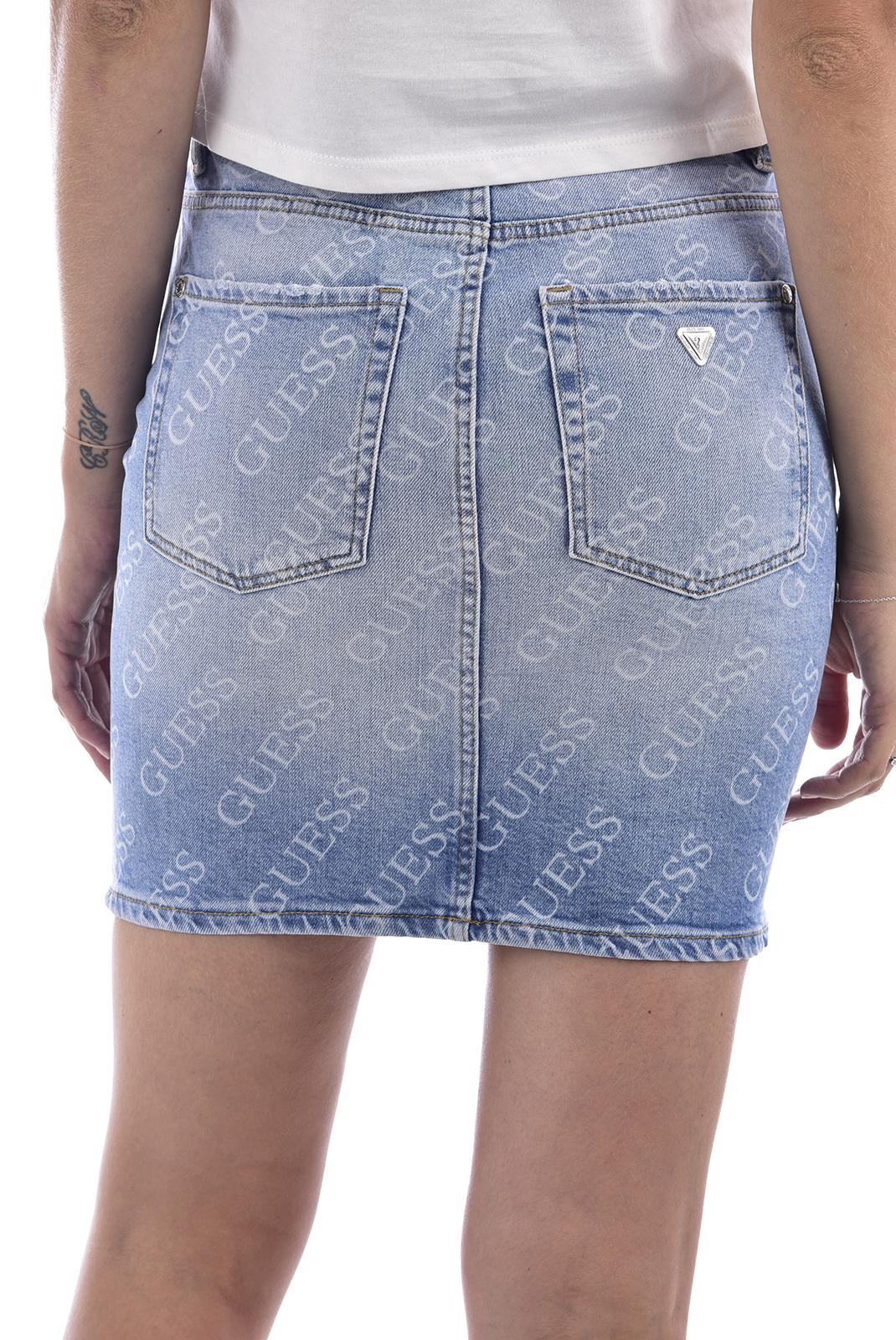 Jupes  Guess jeans W74D13D3GX9 MONTEREY BEACH