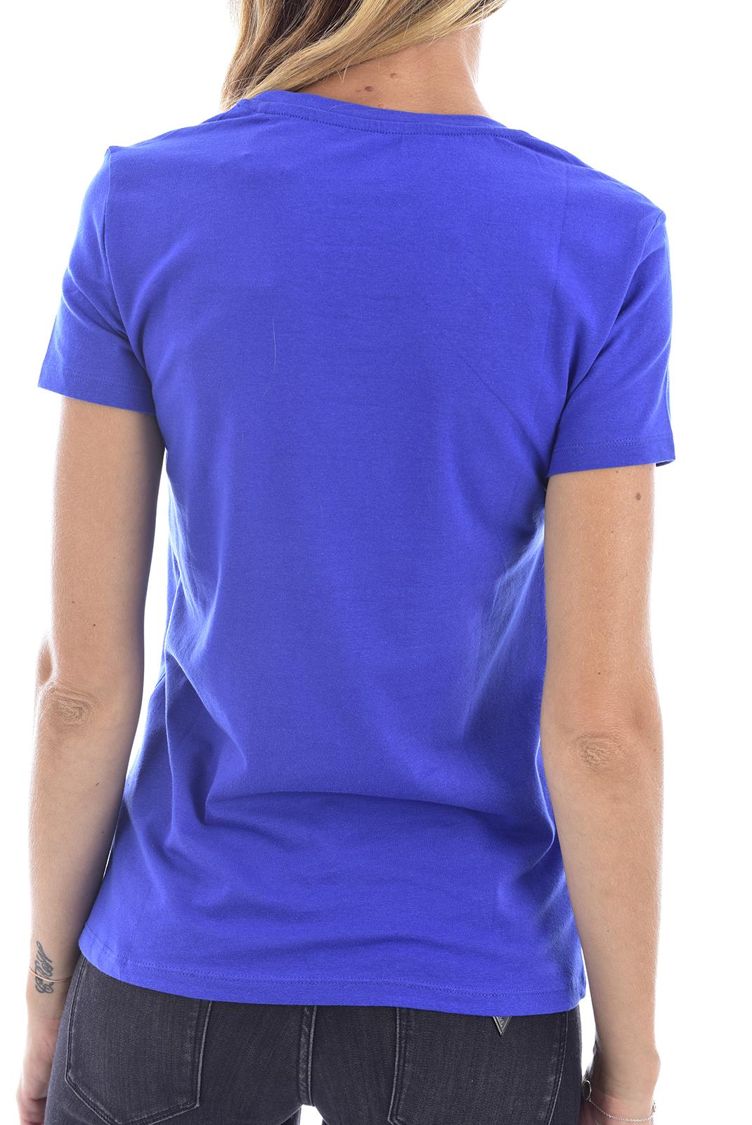 Tee shirt  Guess jeans W72I3BI3Z09 WILD BLUE A715