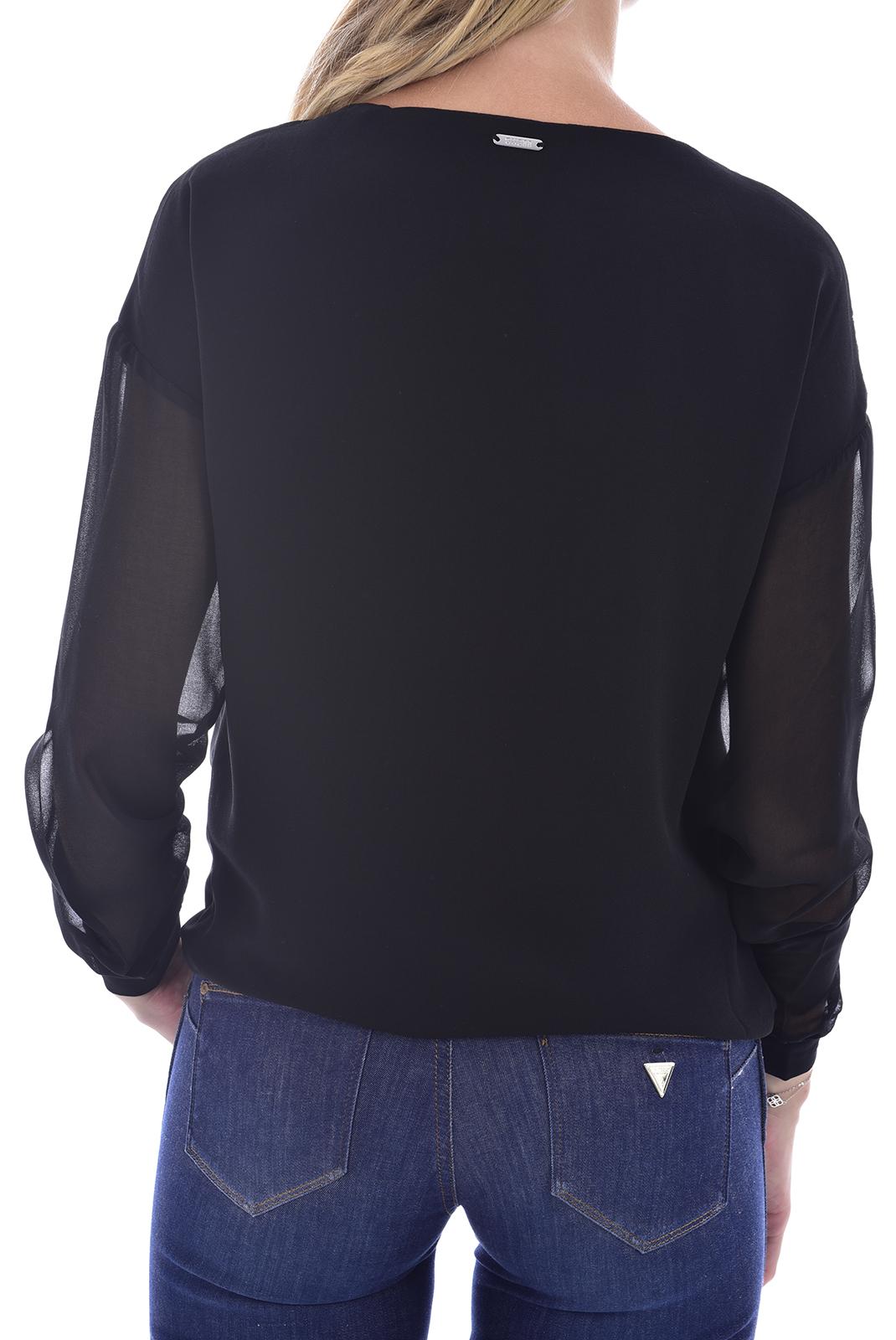 Blouses  Guess jeans W93H92W8SL0 Jet Black A996