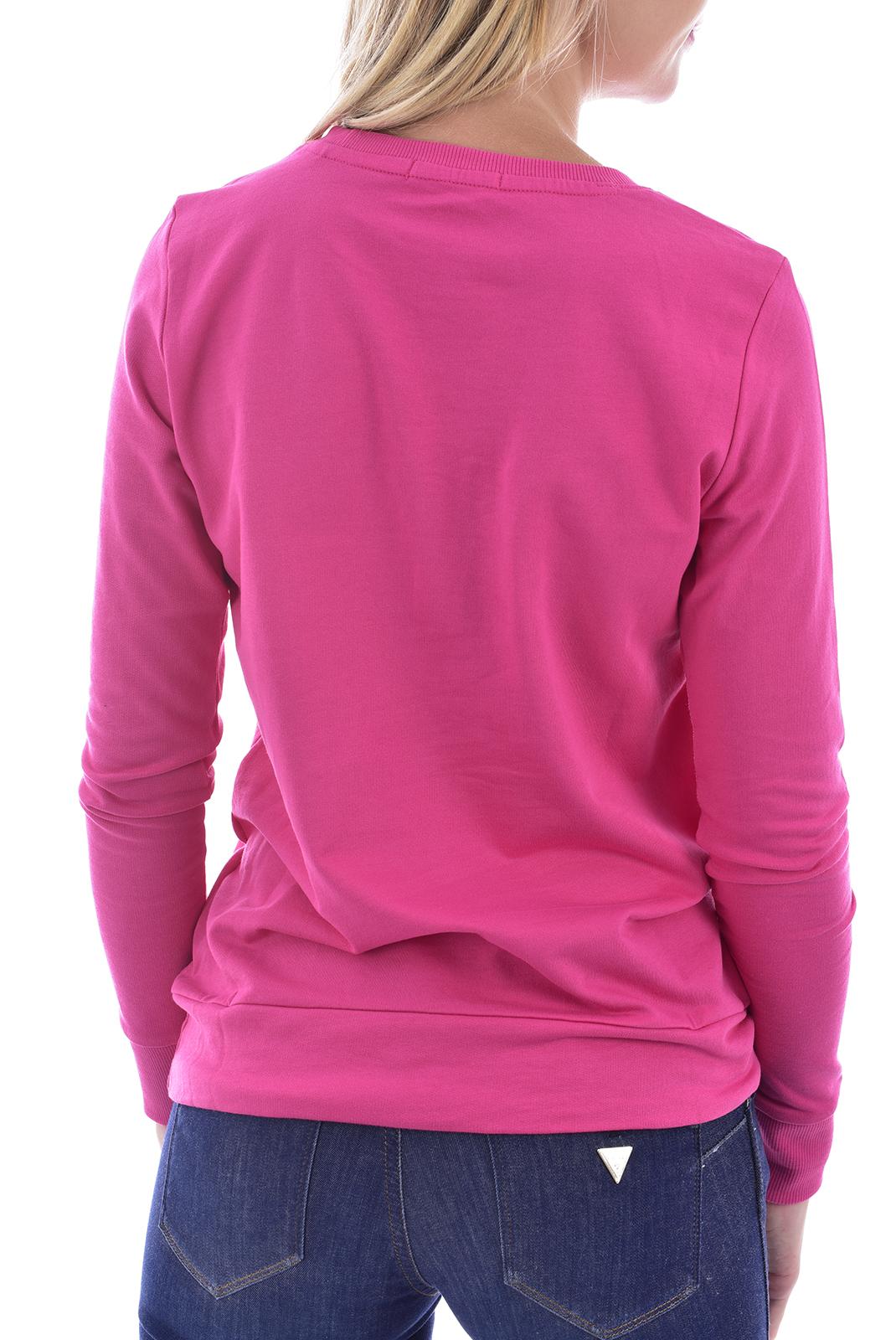 Sweat / sweat zippé  Guess jeans W72Q30K7MY9 JEALOUS PINK