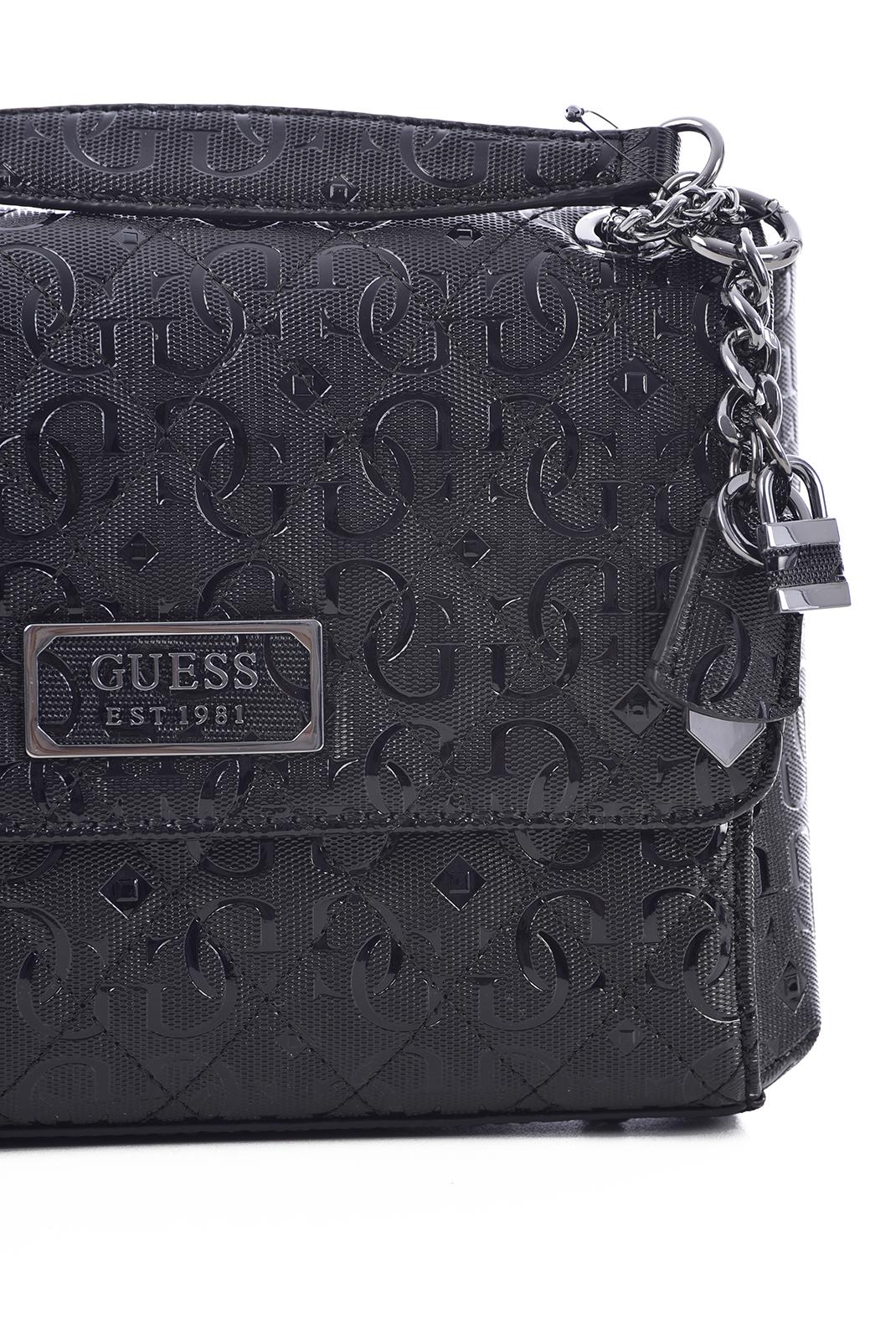 Sac porté épaule  Guess jeans HWSM78 74210 BLACK