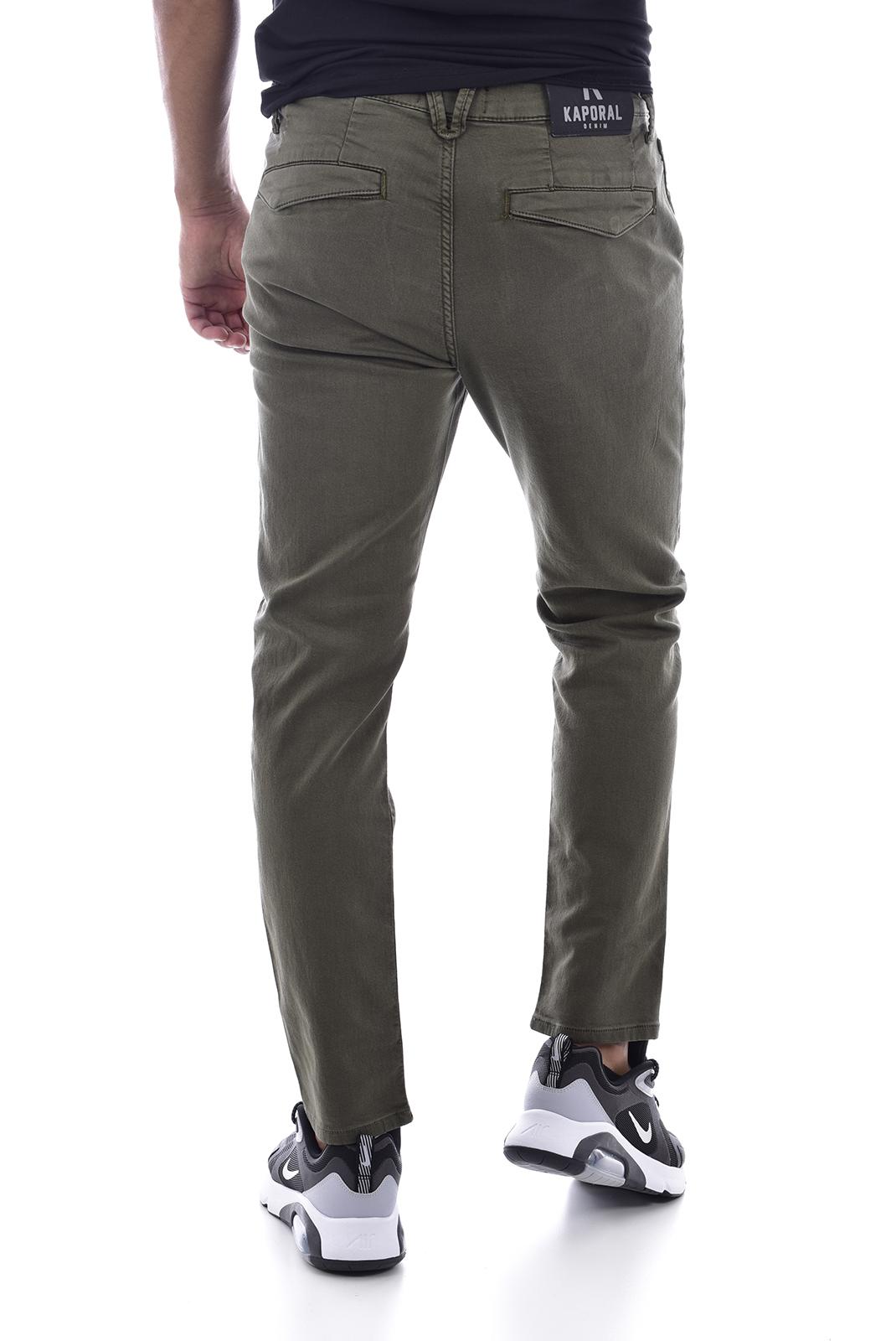 Pantalons chino/citadin  Kaporal IRWIX EXKAKI