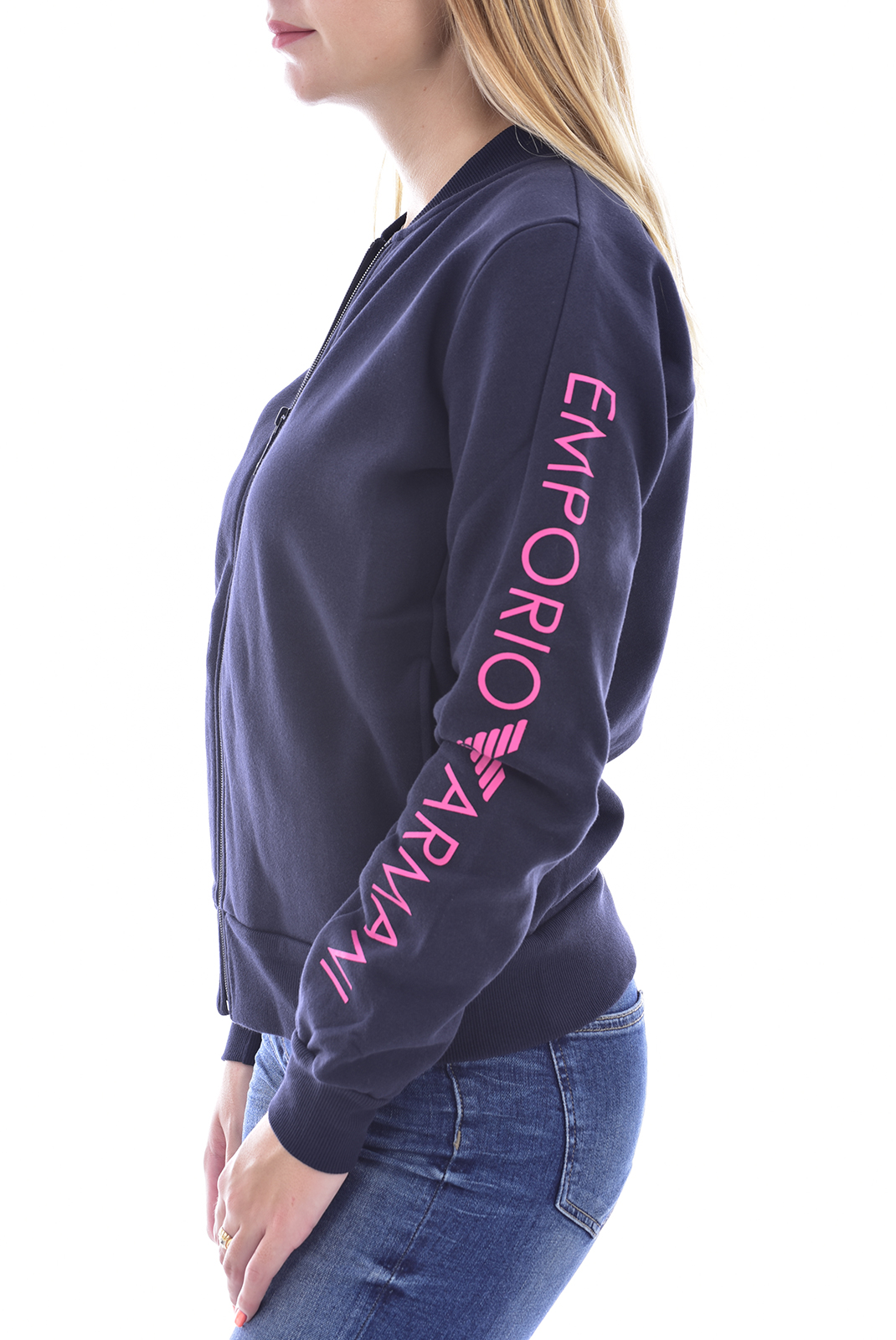 Sweat / sweat zippé  Emporio armani 164384 0A250 0637 BLUE NAVY