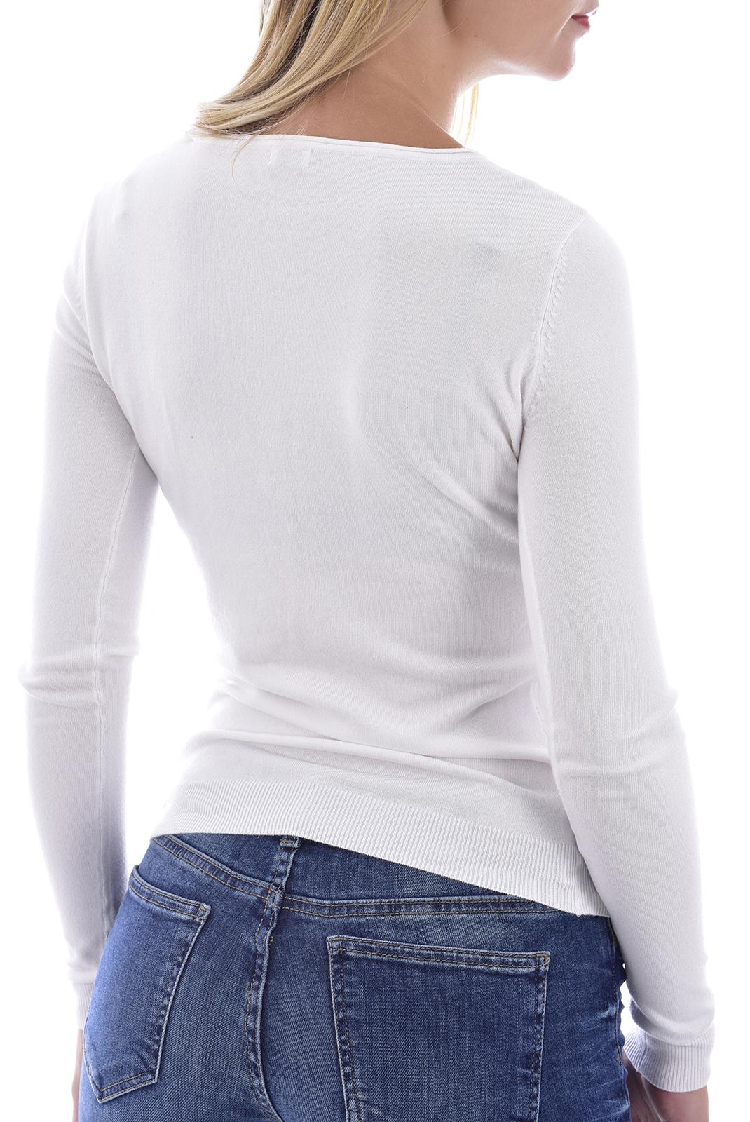 Pull  Guess jeans W0BR0NZ2NQ0 TWHT