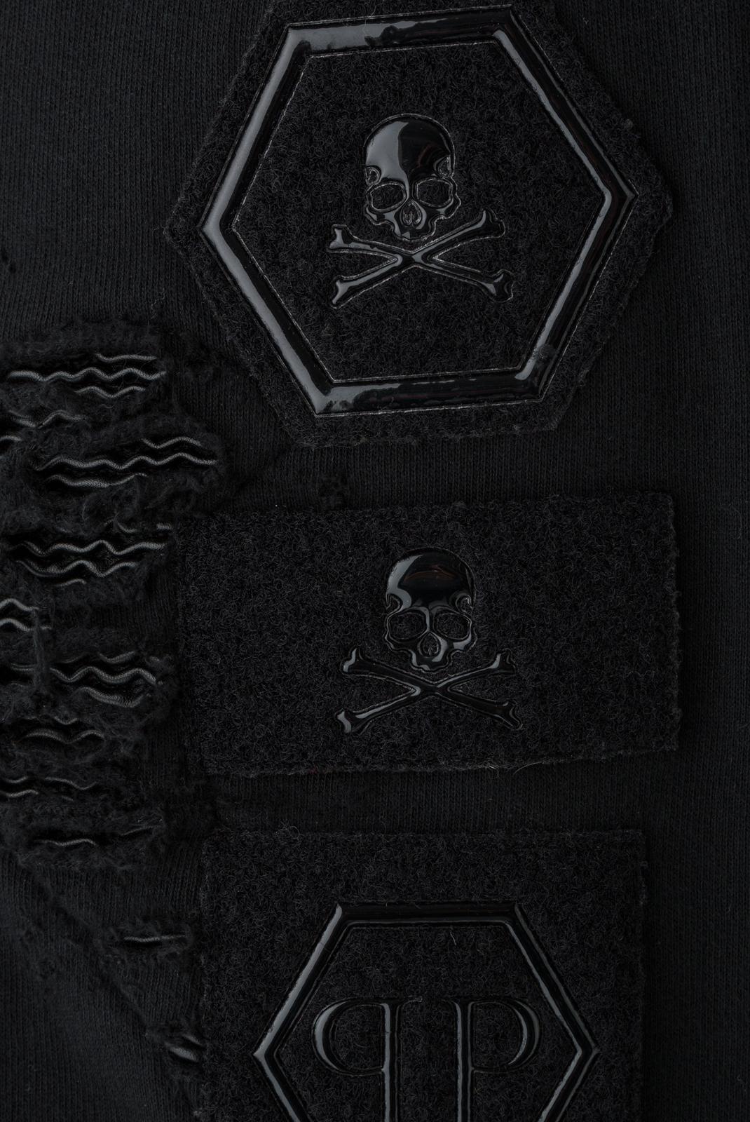 Vestes zippées  Philipp plein MJB0238 BLACK