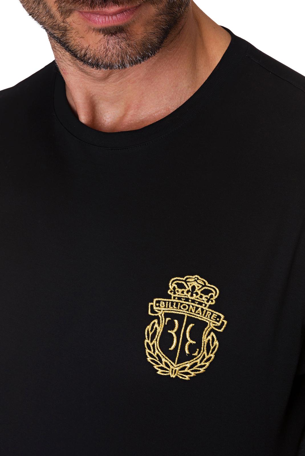 T-S manches courtes  Billionaire MTK2633 BLACK/GOLD