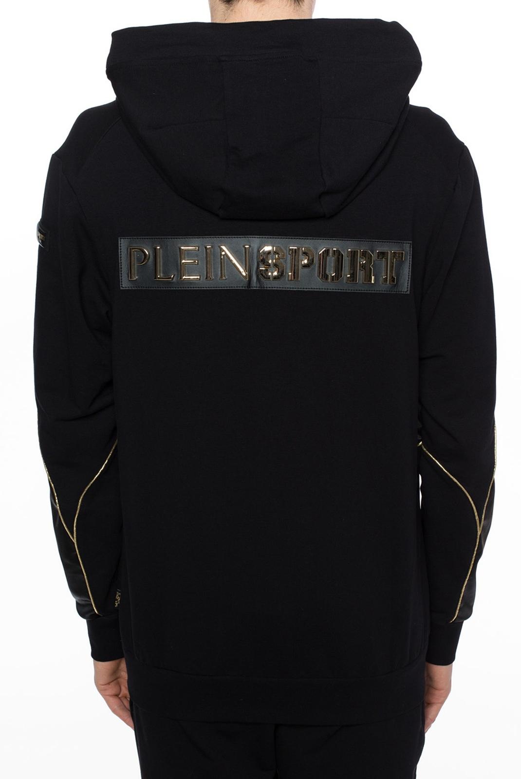 Vestes zippées  Plein Sport MJB0326 BLACK/GOLD