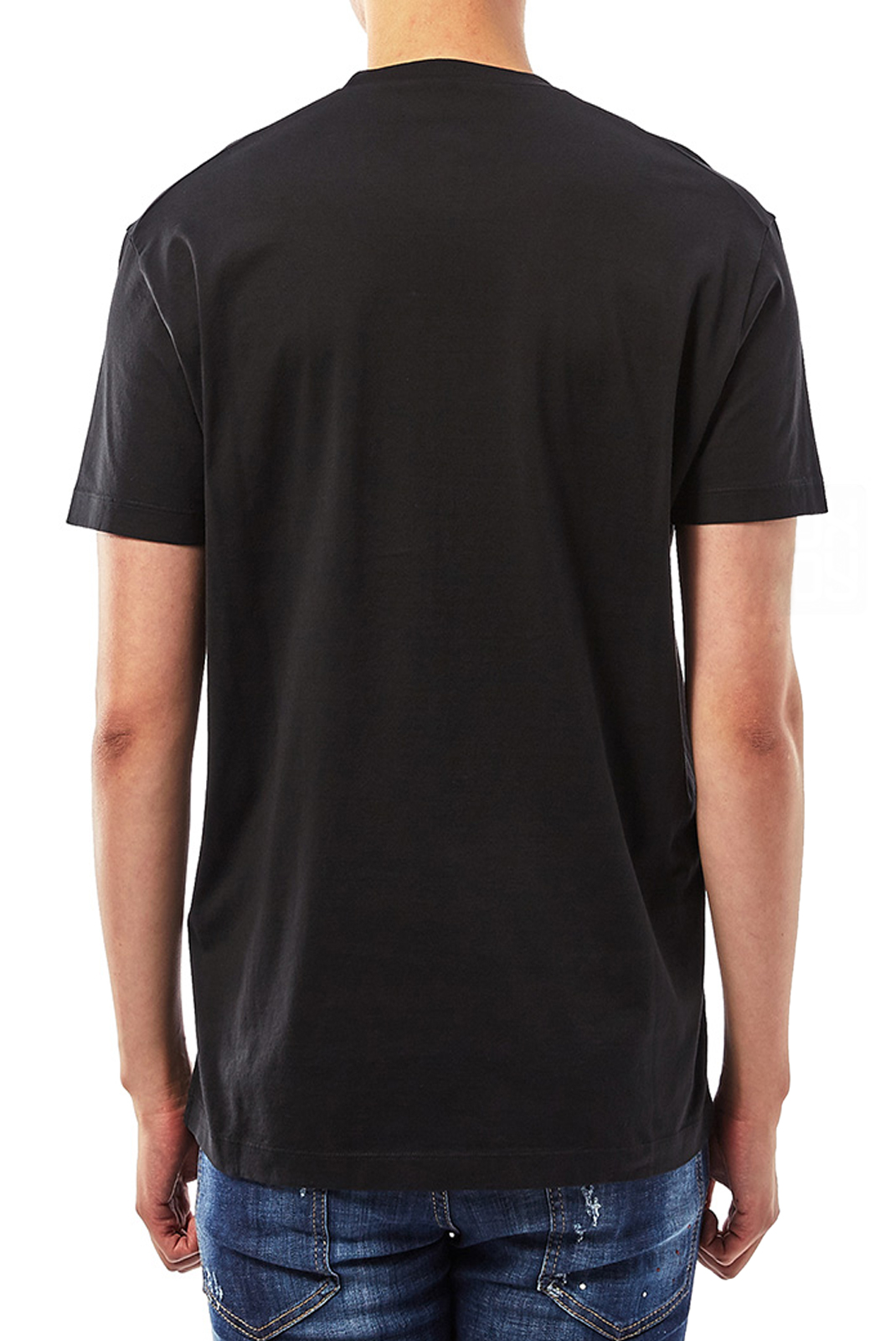 Tee-shirts  Dsquared2 S74GD0446 900 NOIR