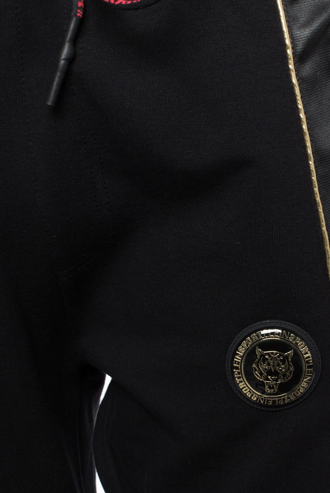 Pantalons sport/streetwear  Plein Sport MJT0449 BLACK/GOLD