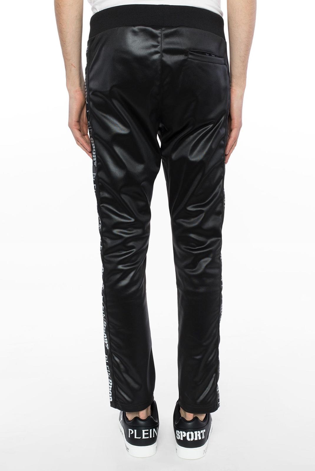 Pantalons sport/streetwear  Plein Sport MJT0451 BLACK