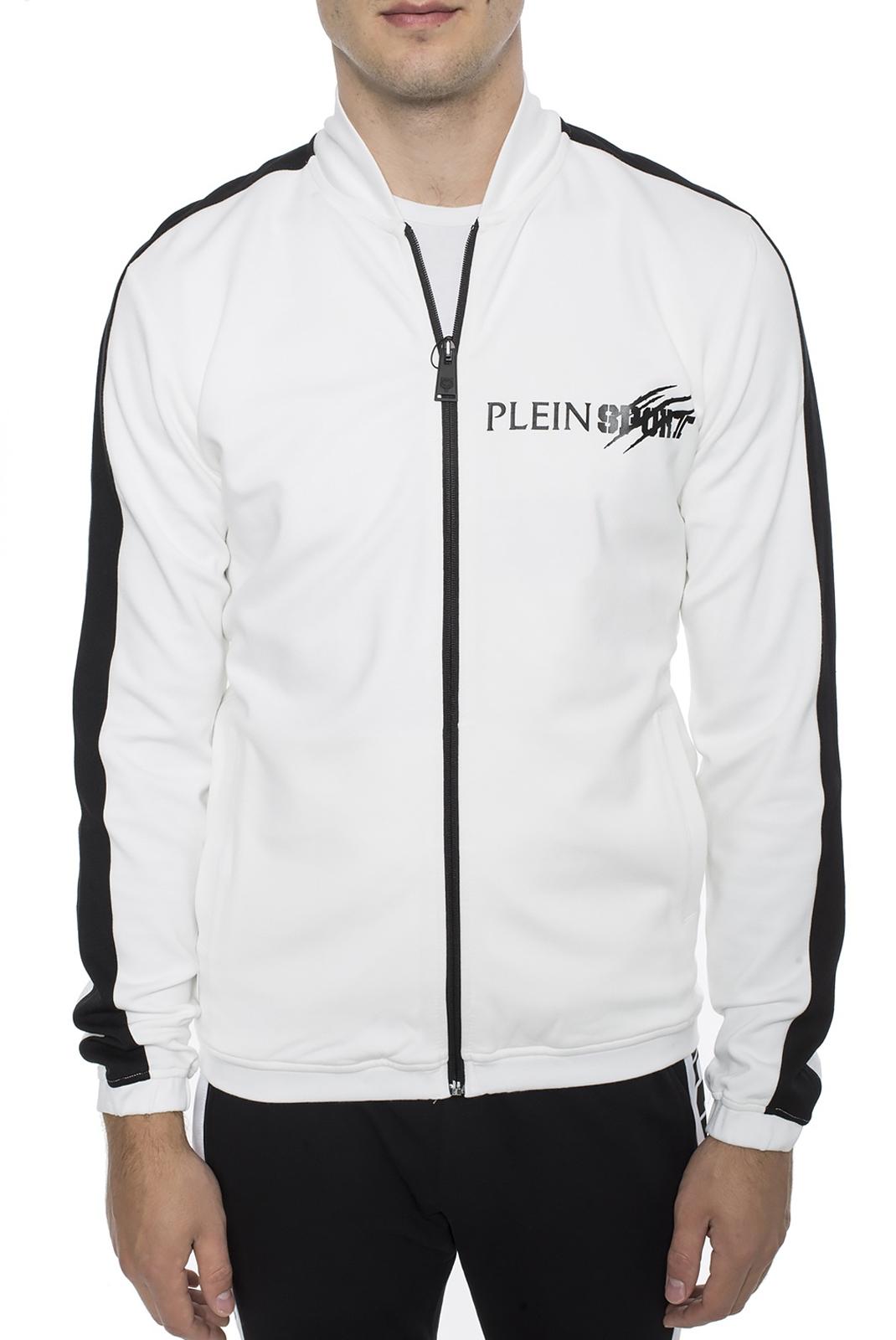 Vestes zippées  Plein Sport MJB0543 WHITE