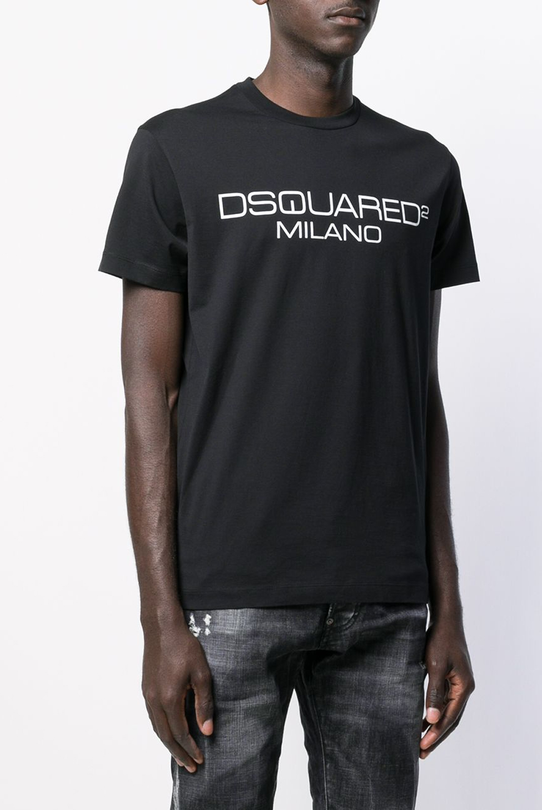 Tee-shirts  Dsquared2 S74GD0644 900 BLACK