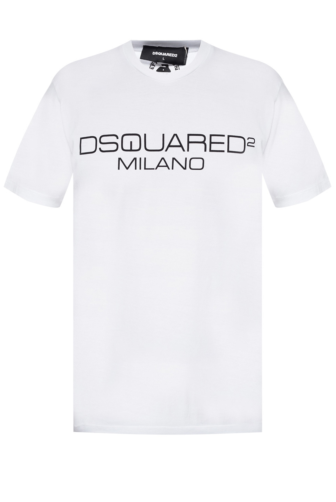 Tee-shirts  Dsquared2 S74GD0644 100 WHITE