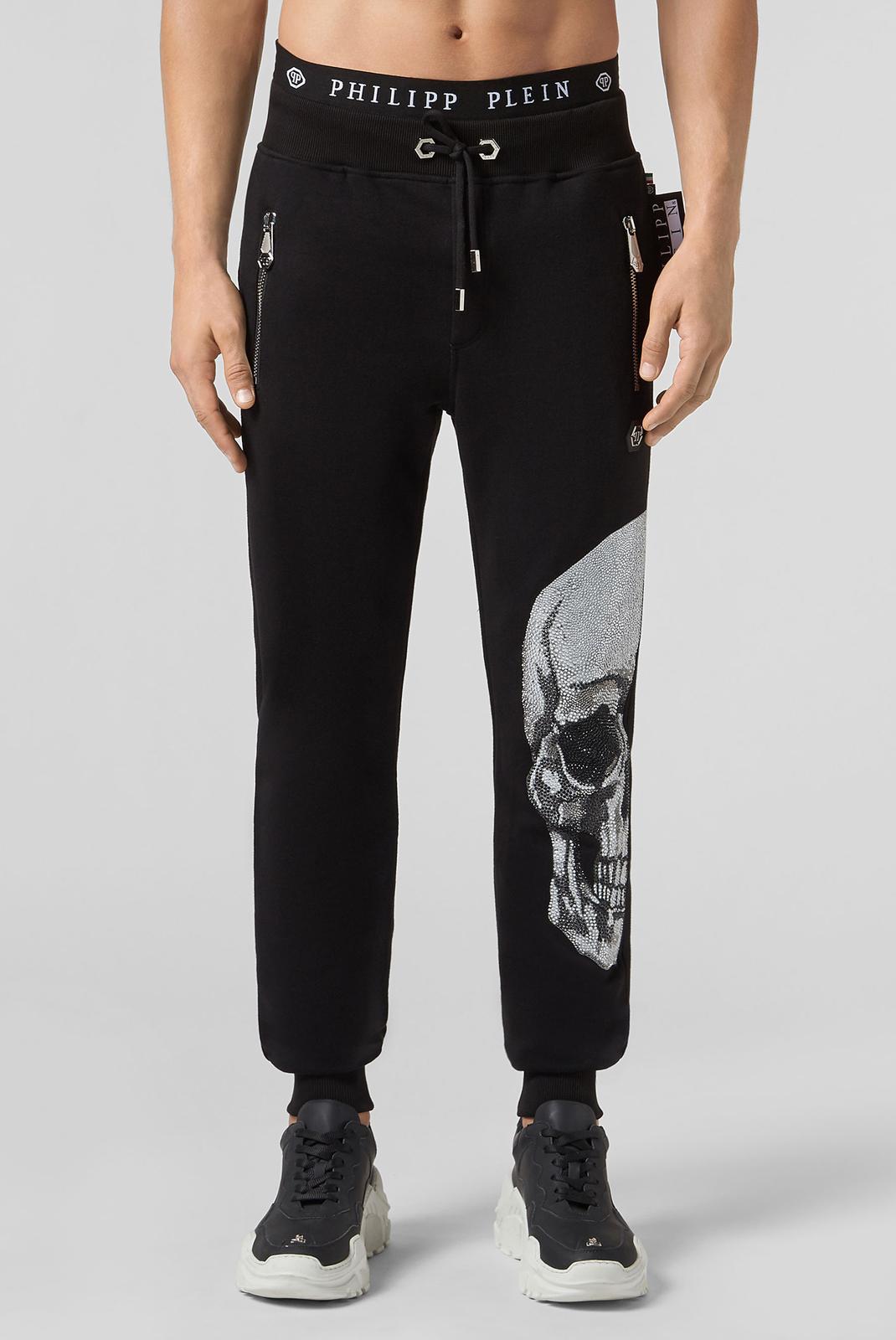 Pantalons sport/streetwear  Philipp plein MJT0939 02 BLACK