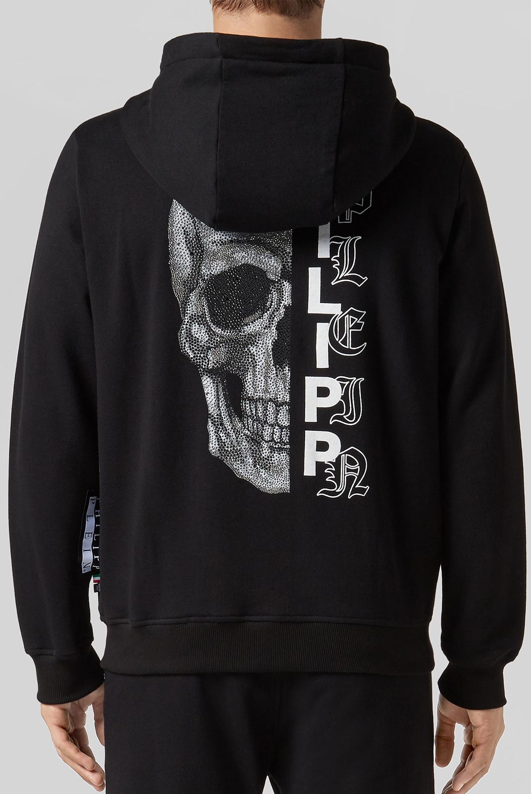 Vestes zippées  Philipp plein MJB0959 BLACK