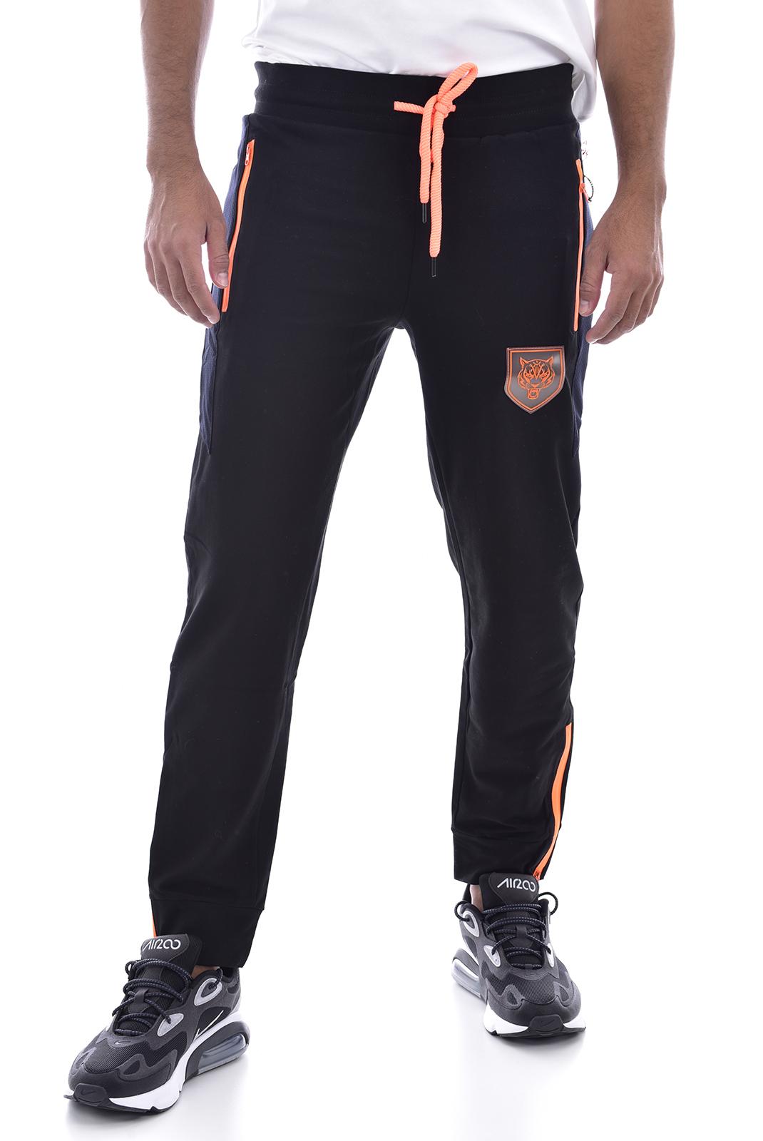 Pantalons sport/streetwear  Plein Sport MJT0460 BLACK/ORANGE
