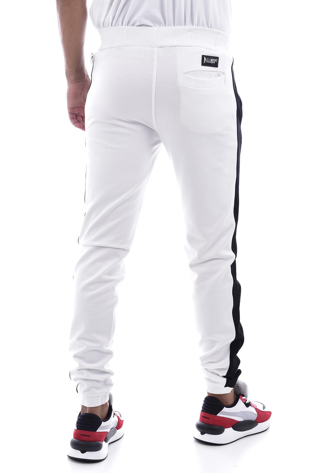 Pantalons sport/streetwear  Plein Sport MJT0681 WHITE