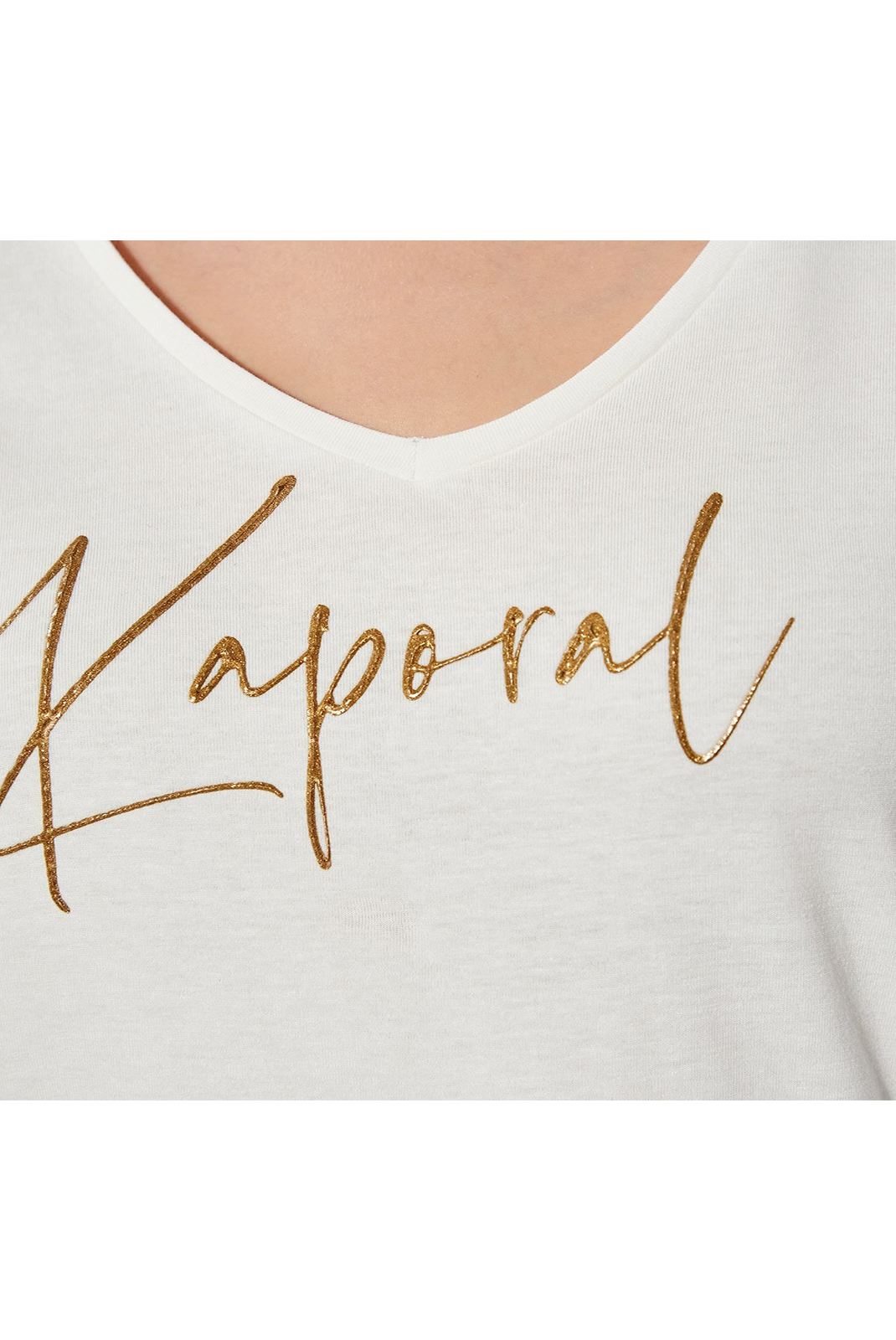 Tee shirt  Kaporal AZIS OFF WHITE