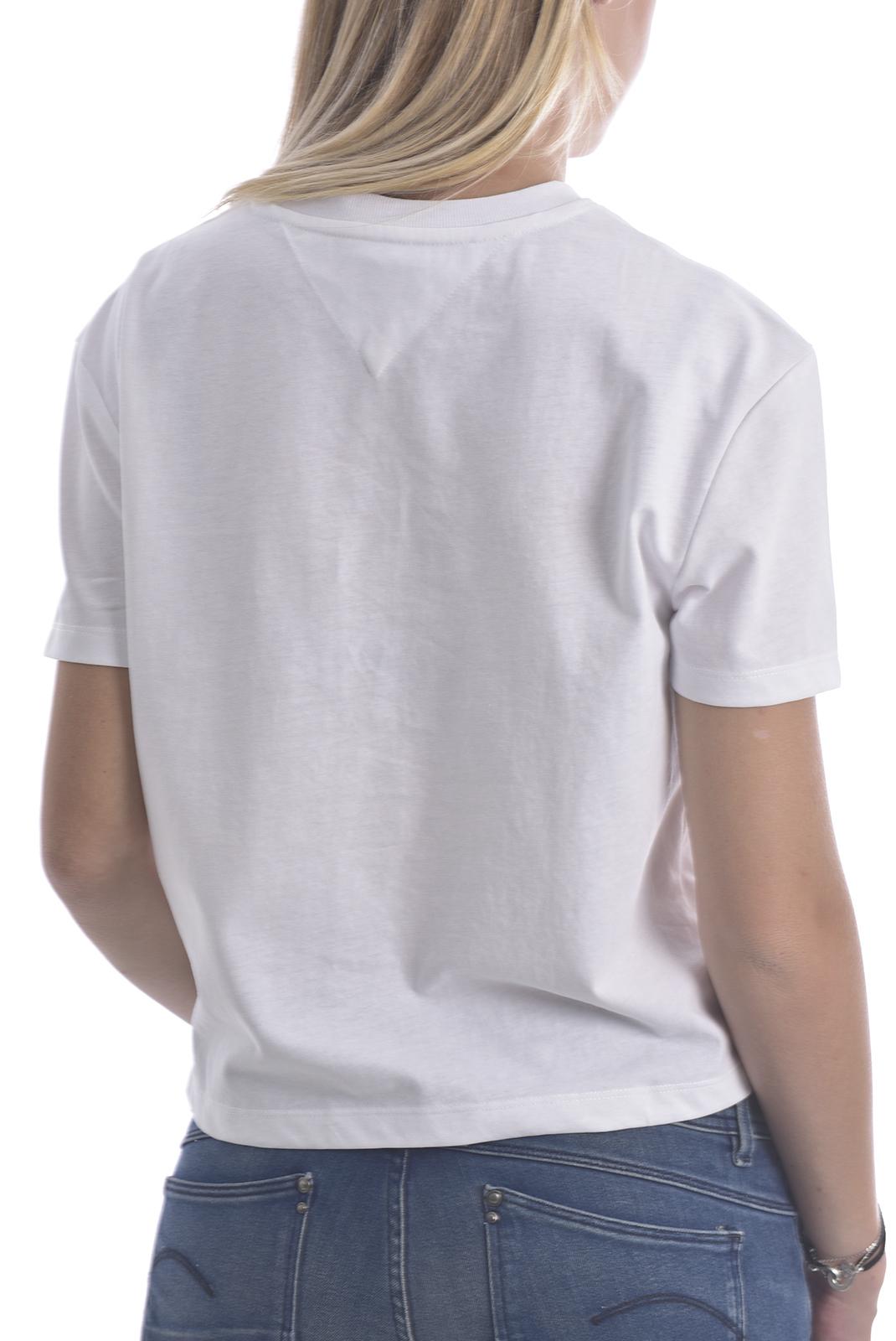 Tee shirt  Tommy Jeans DW0DW06813 YBR WHITE