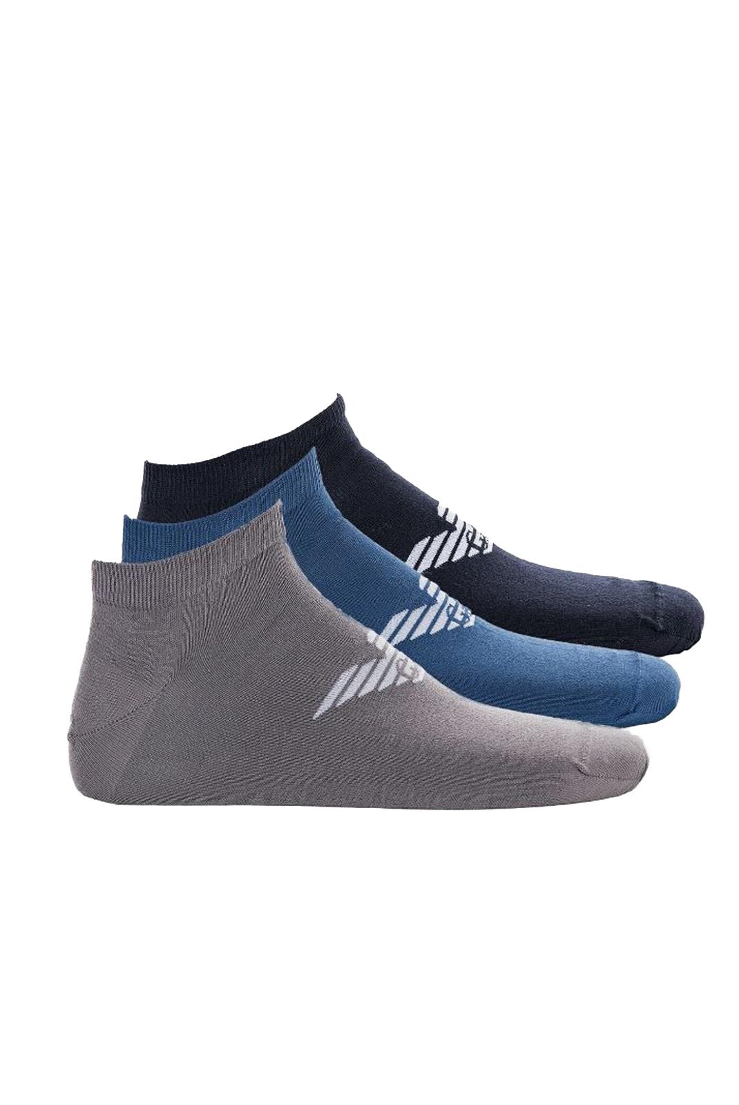 Chaussettes  Emporio armani 300008 0P234 66335 BLU/BLUETTE/ GRIGIO