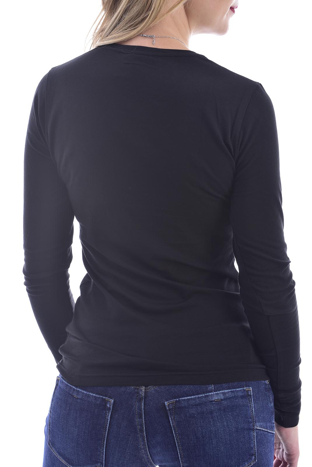 Tee shirt manches longues  Emporio armani 163229 0A263 020 BLACK
