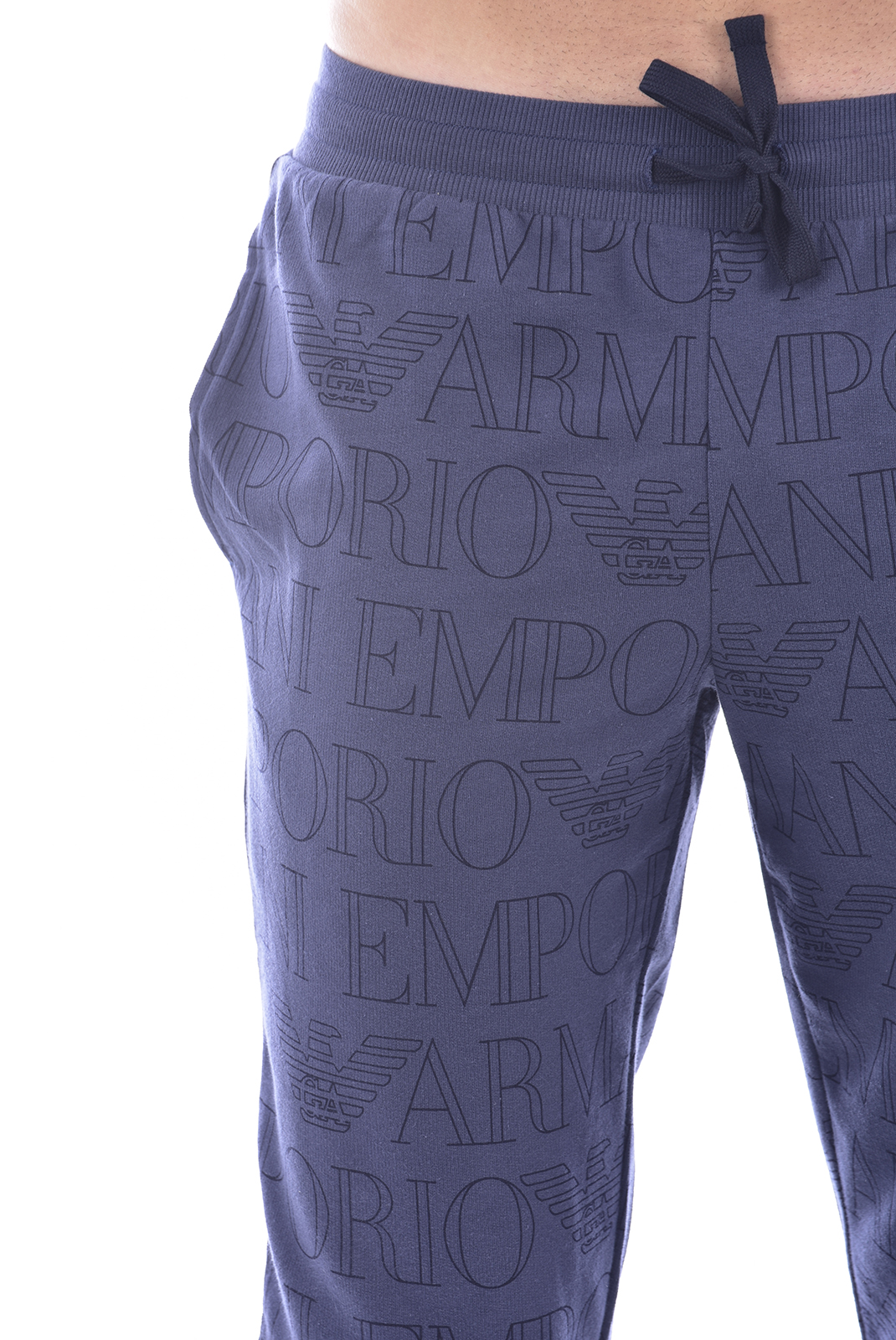 Pantalons sport/streetwear  Emporio armani 111690 0P566 67835 BLU STAMPATO