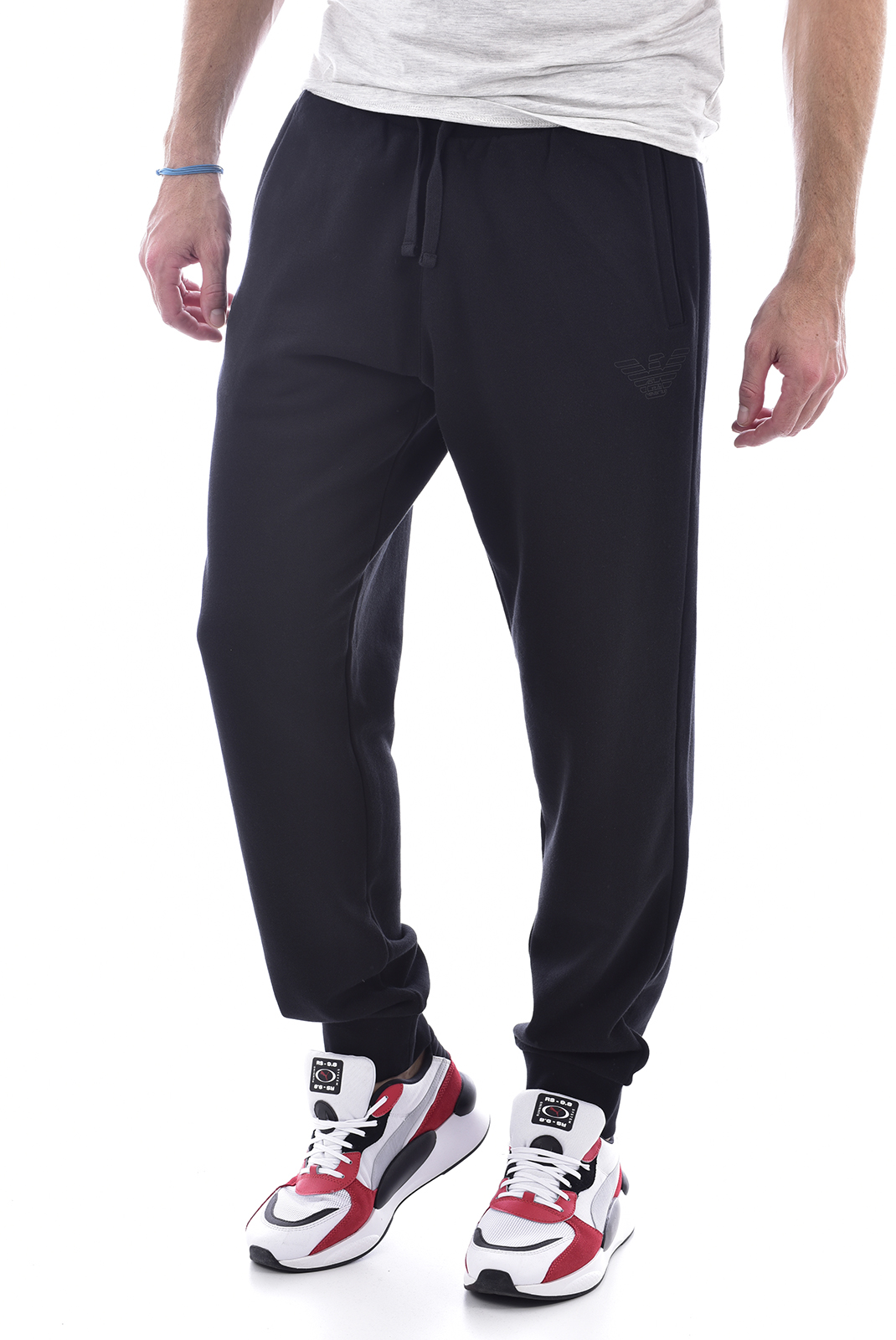 Pantalons sport/streetwear  Emporio armani 111869 0A560 020 BLACK