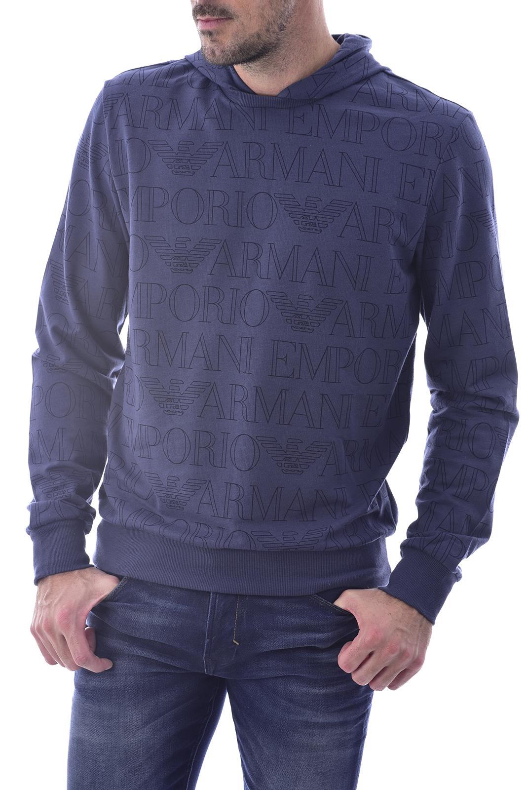 Sweatshirts  Emporio armani 111698 0P566 67835 BLU STAMPATO