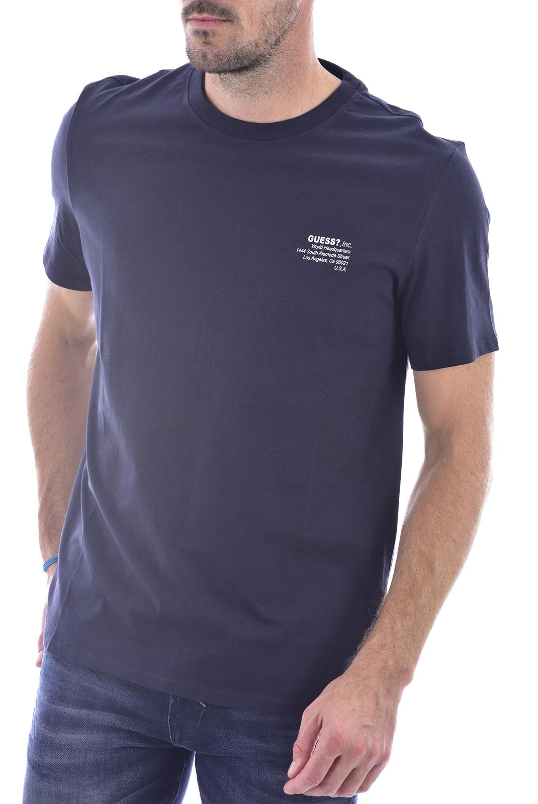 T-S manches courtes  Guess jeans M0BI66 K8HM0 G720 bleu