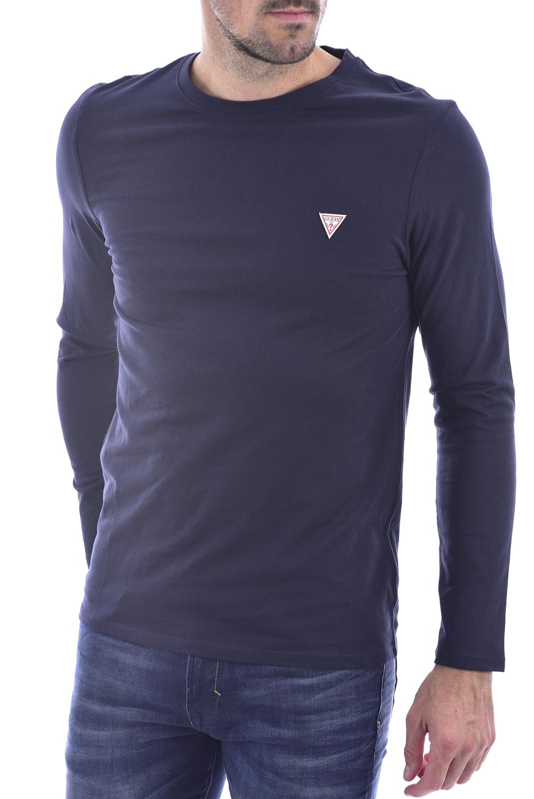 T-S manches longues  Guess jeans M0BI48 I3Z11 G720 bleu