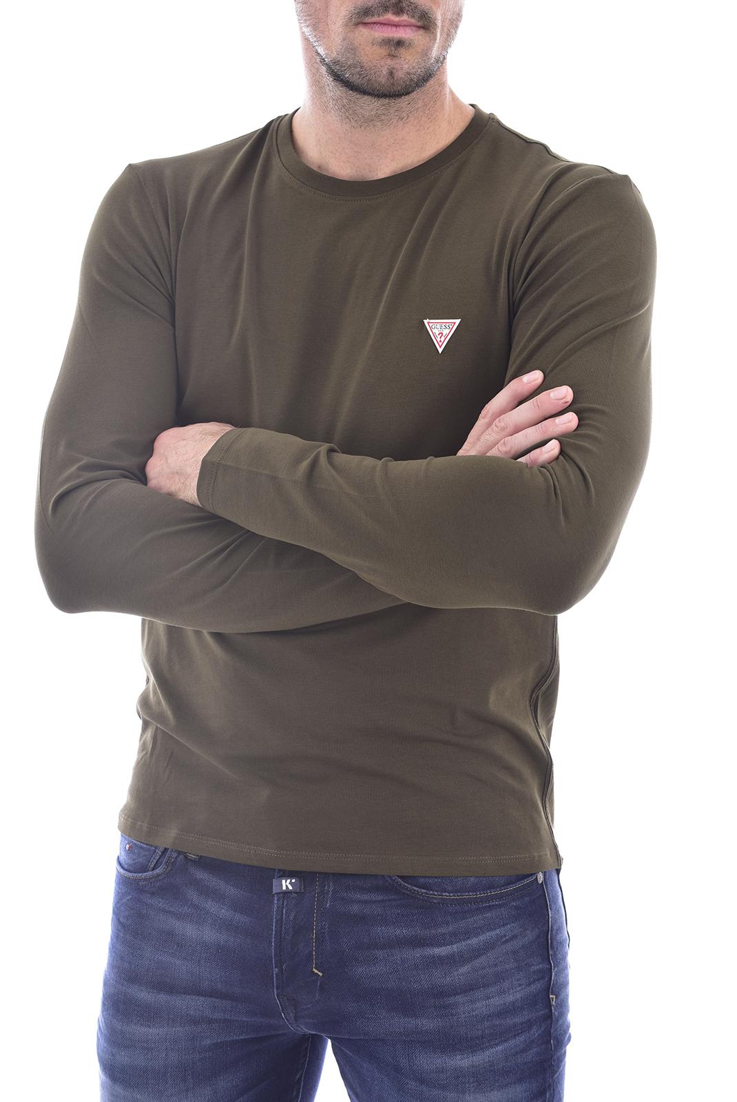 T-S manches longues  Guess jeans M0BI28 J1311 G1AM vert