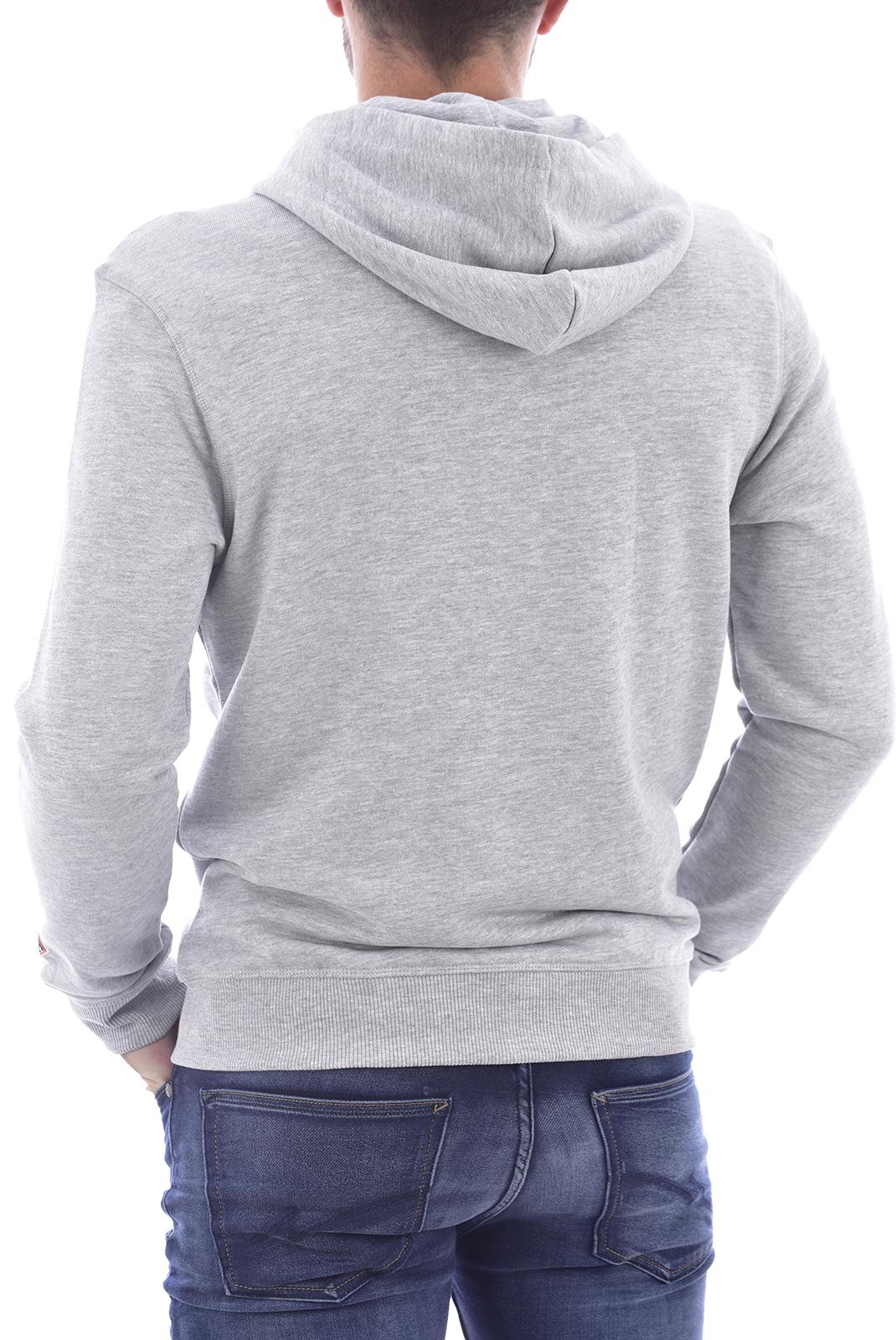 Vestes zippées  Guess jeans U0BA50 K9V31 H905 GRIS
