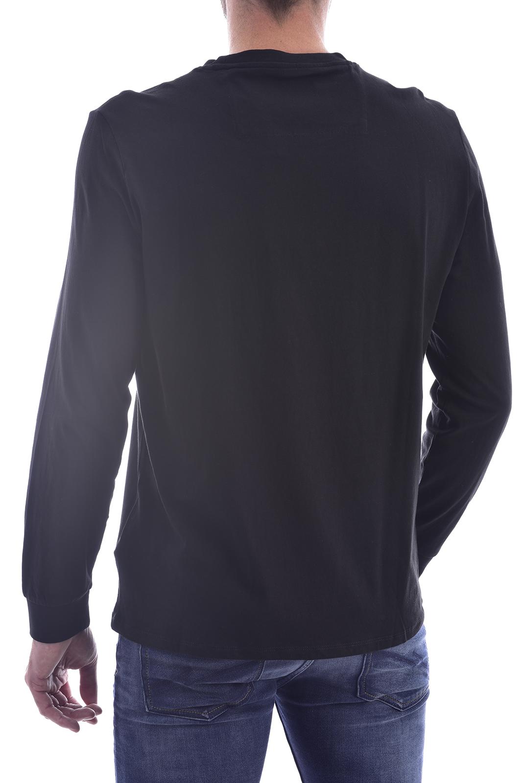 T-S manches longues  Guess jeans M0BI67 K8HM0 JBLK NOIR