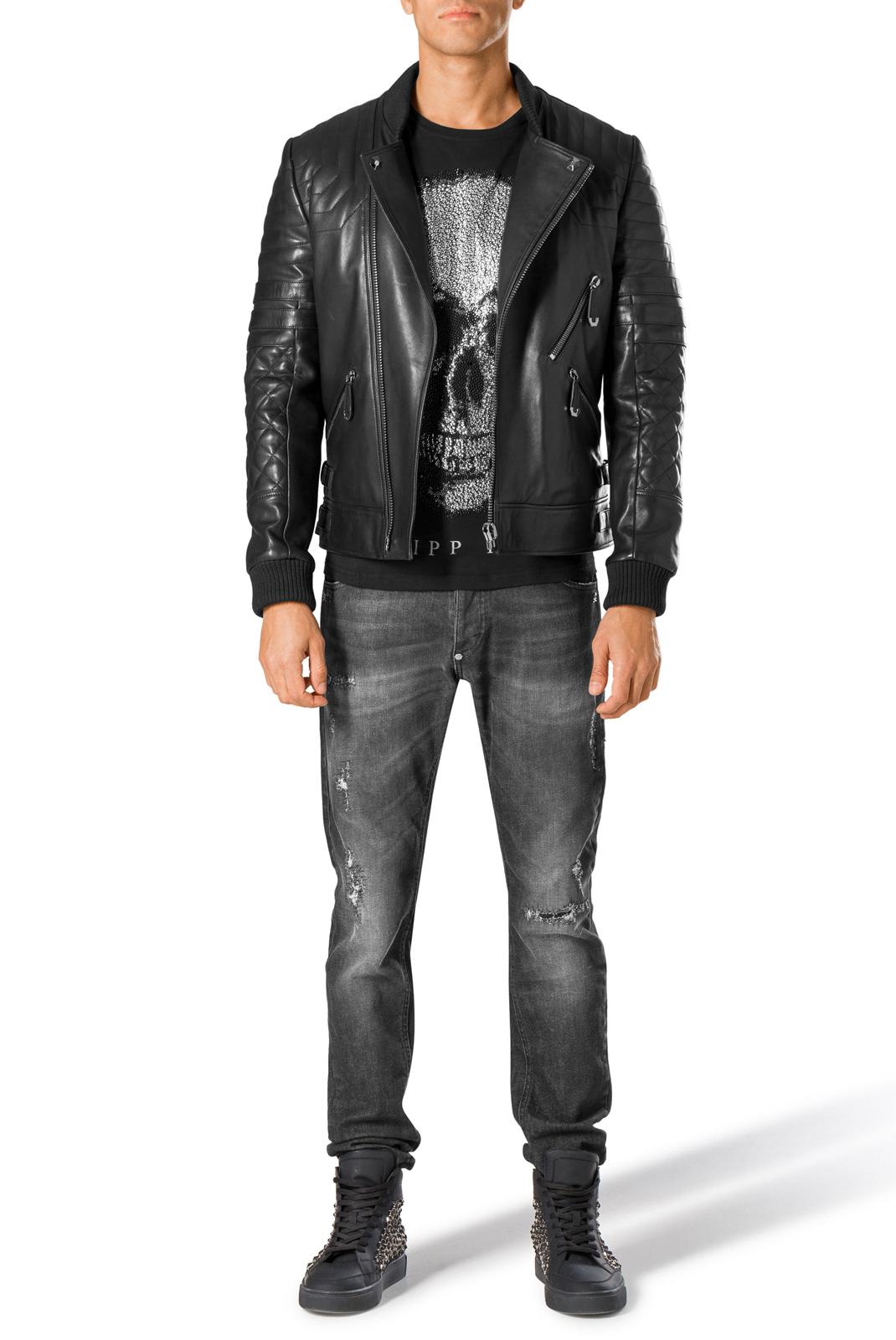 Homme  Philipp plein MDT0296 02NI noir