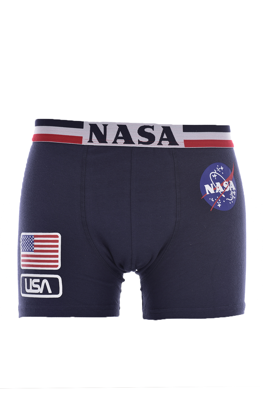 Slips-Caleçons  Nasa FLAG-USA BOXER NAVY