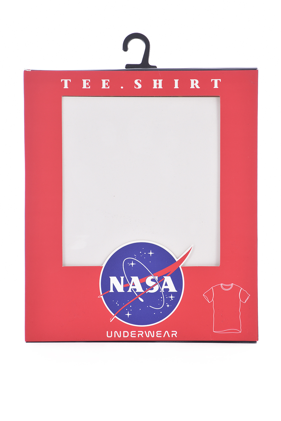 T-S manches courtes  Nasa BASIC BALL O NECK BLACK